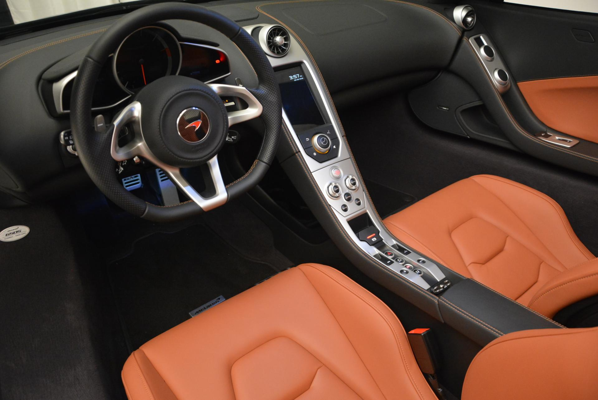 Used 2015 McLaren 650S Spider  For Sale In Westport, CT 518_p26