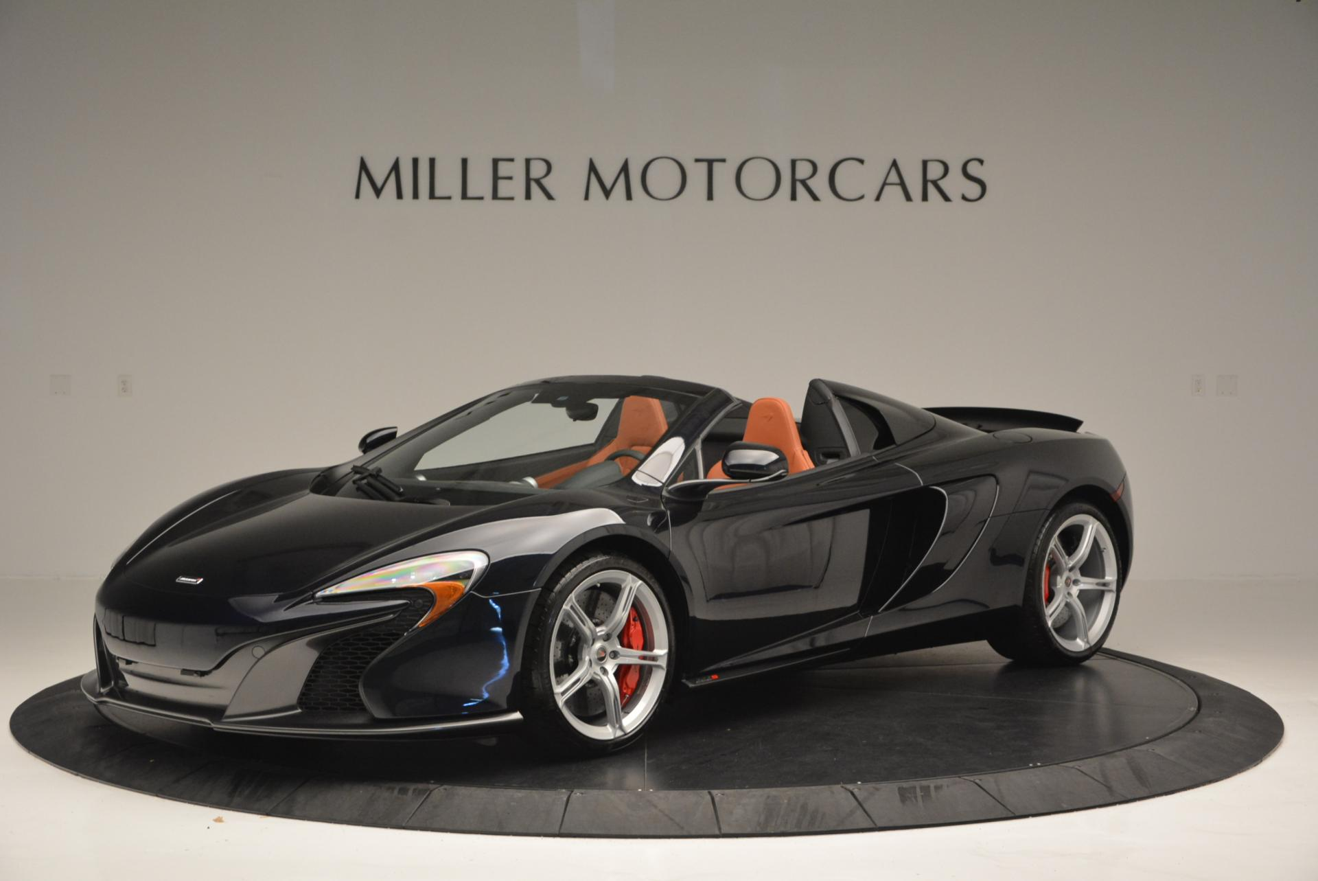 Used 2015 McLaren 650S Spider  For Sale In Westport, CT 518_p2