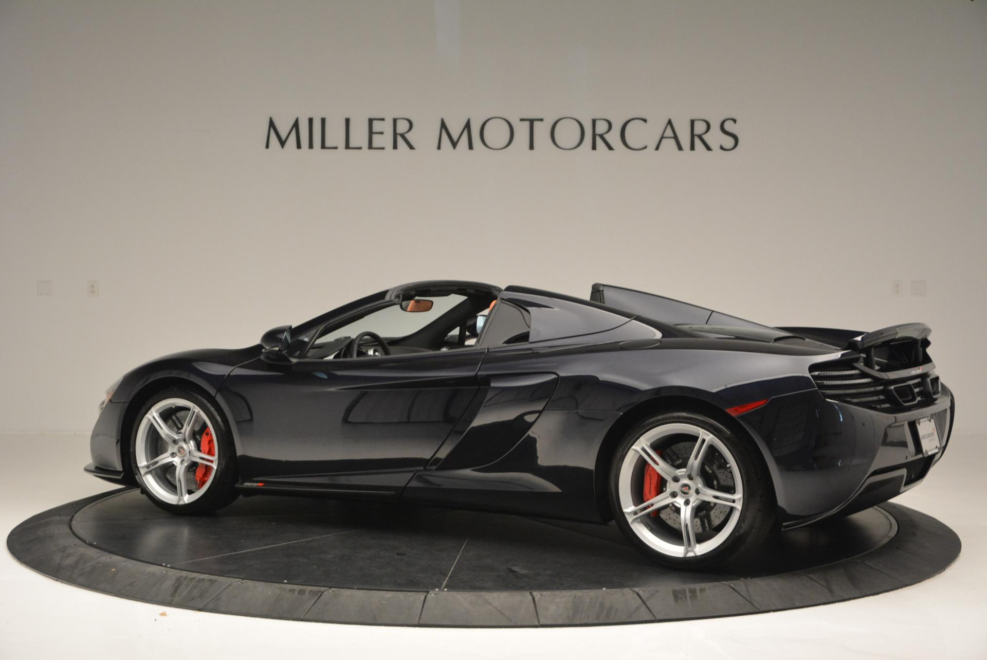 Used 2015 McLaren 650S Spider  For Sale In Westport, CT 518_p4