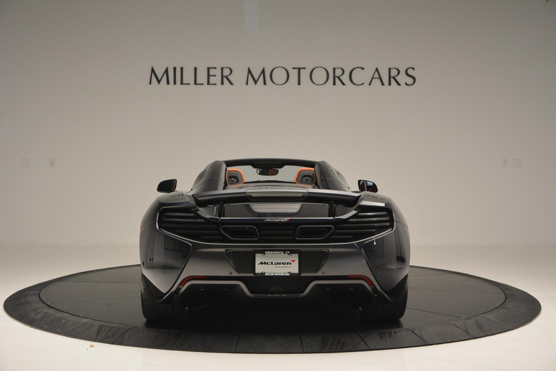 Used 2015 McLaren 650S Spider  For Sale In Westport, CT 518_p6