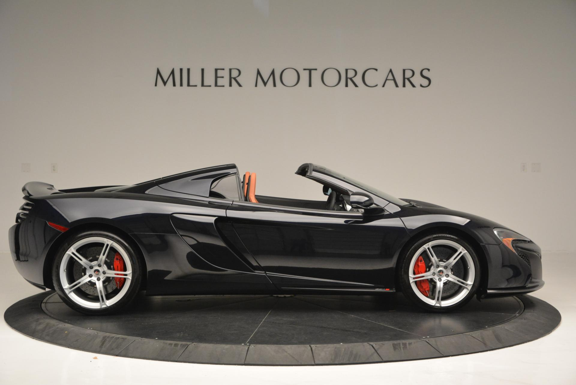 Used 2015 McLaren 650S Spider  For Sale In Westport, CT 518_p9