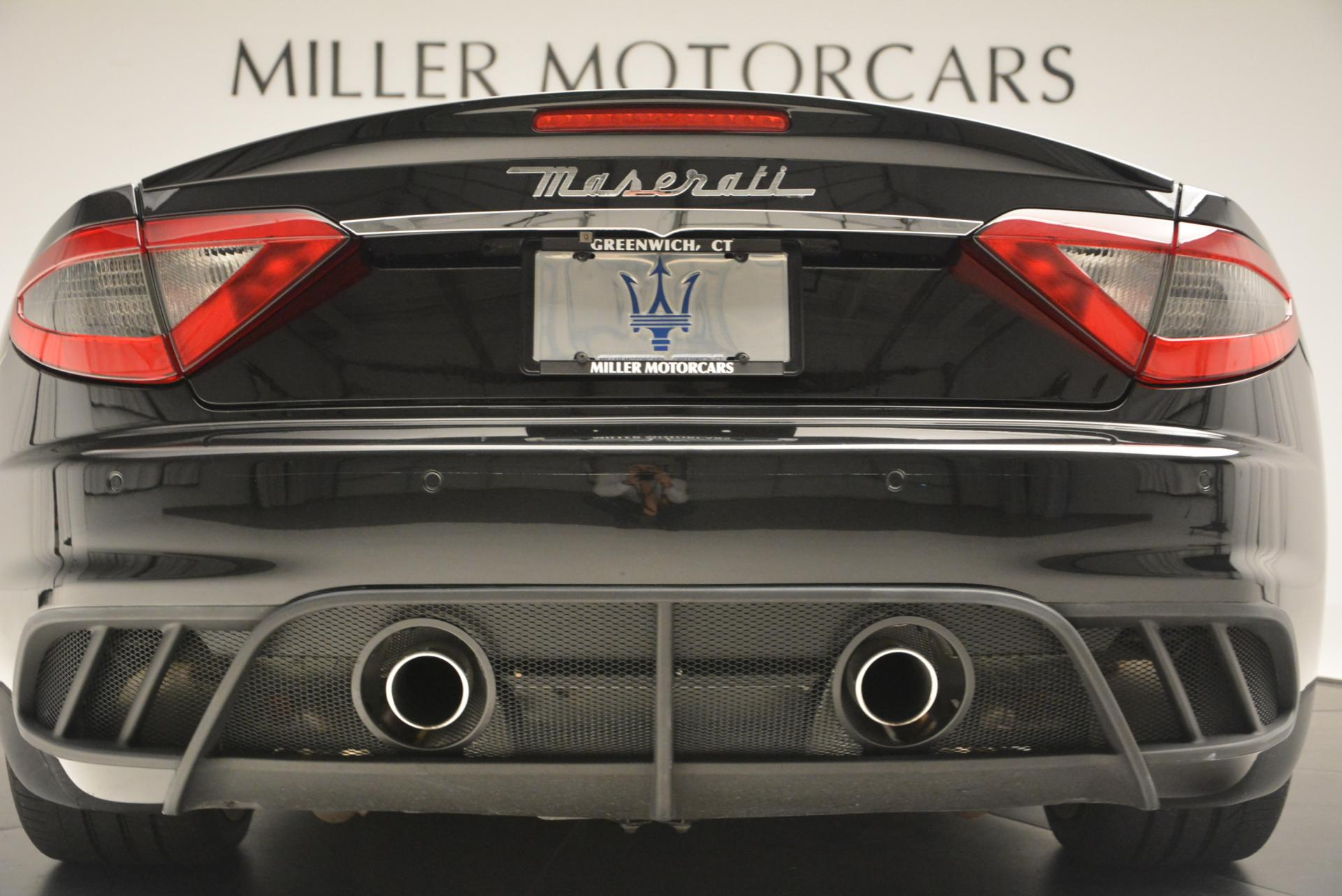 Used 2013 Maserati GranTurismo MC For Sale In Westport, CT 521_p21