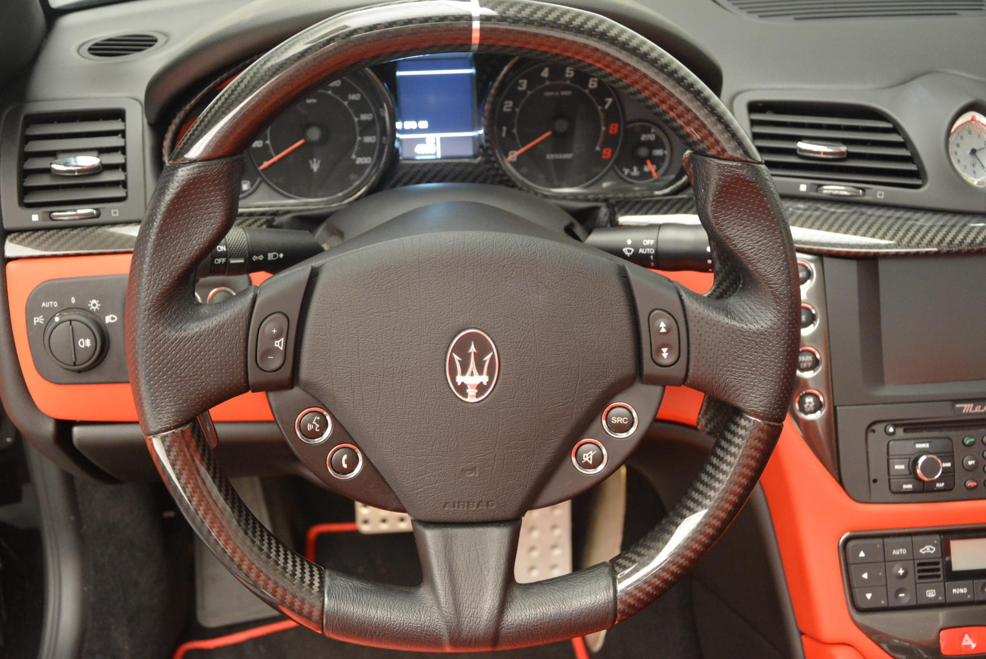 Used 2013 Maserati GranTurismo MC For Sale In Westport, CT 521_p30