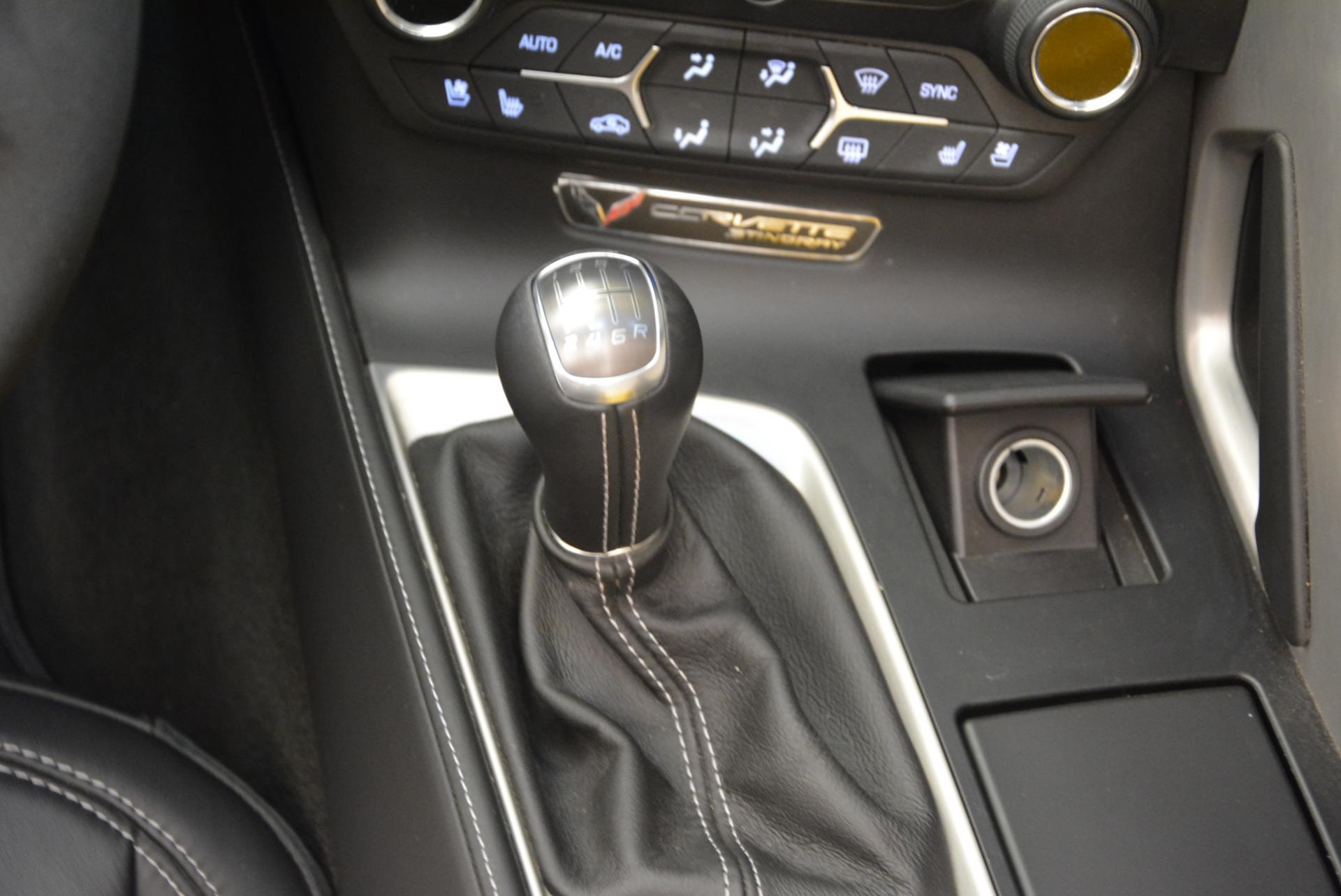 Used 2014 Chevrolet Corvette Stingray Z51 For Sale In Westport, CT 523_p17