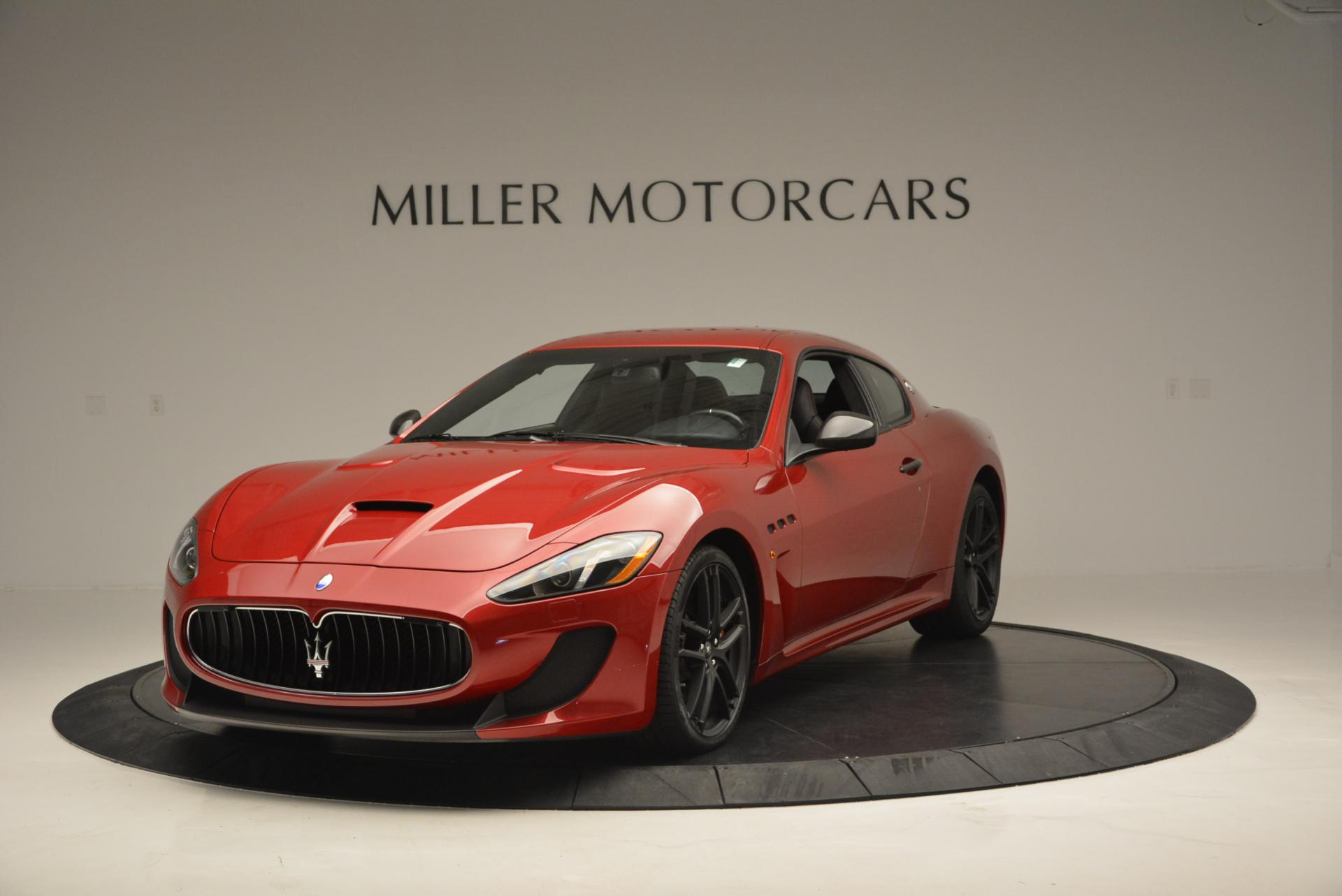 Used 2014 Maserati GranTurismo MC For Sale In Westport, CT 525_main