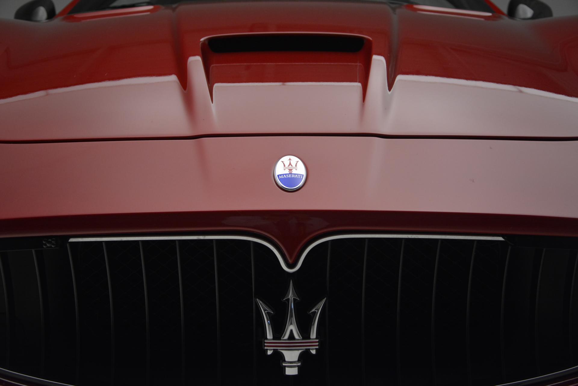 Used 2014 Maserati GranTurismo MC For Sale In Westport, CT 525_p14