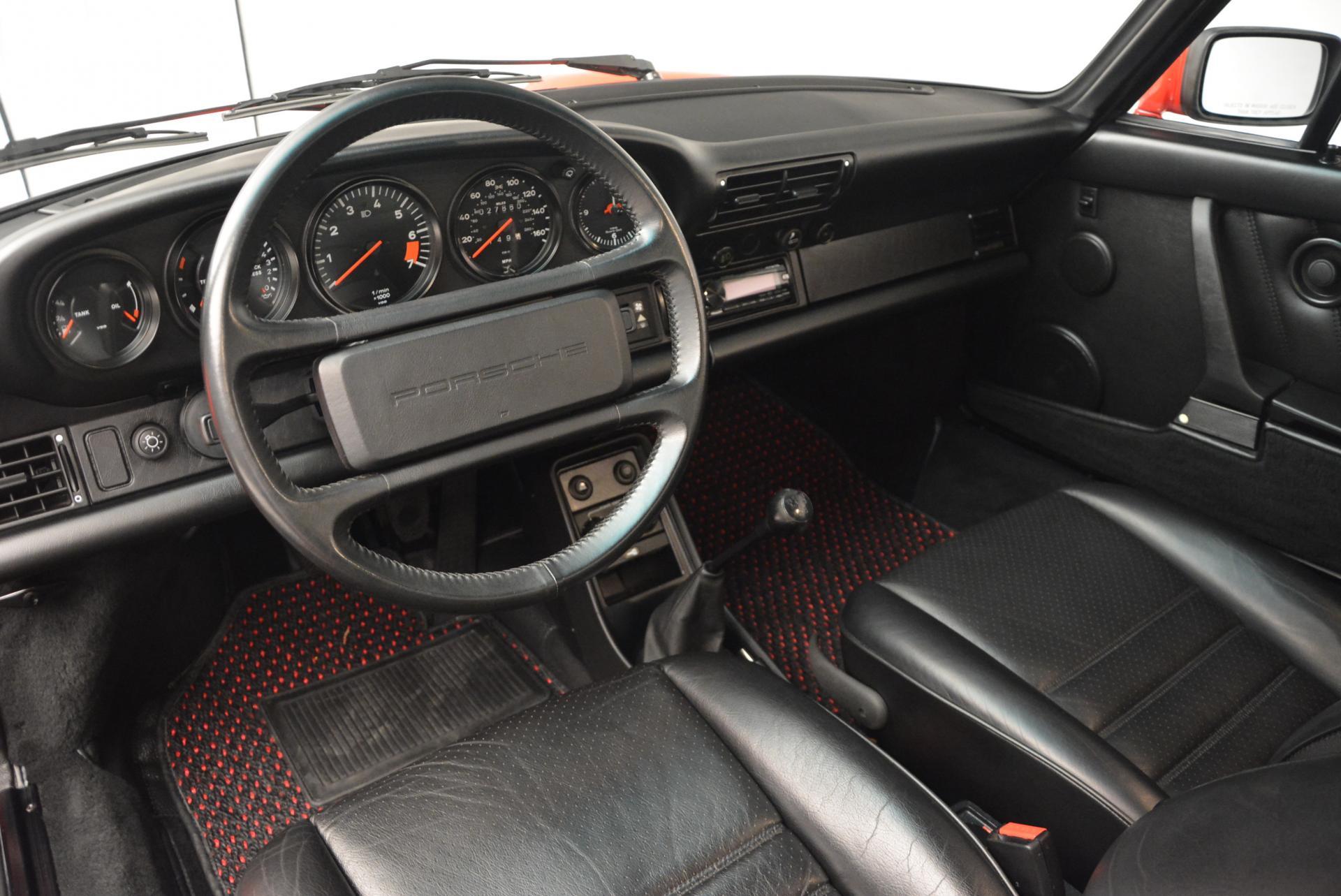Used 1988 Porsche 911 Carrera For Sale In Westport, CT 527_p13