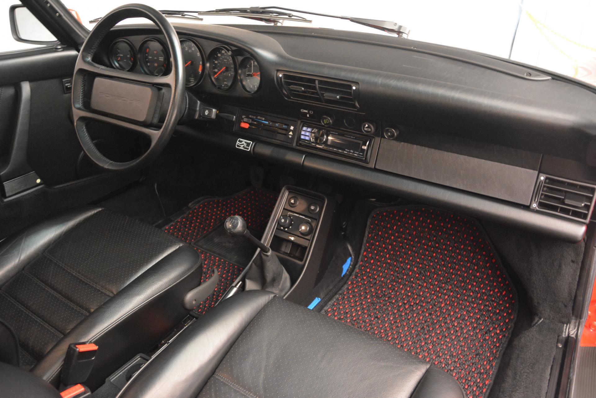 Used 1988 Porsche 911 Carrera For Sale In Westport, CT 527_p18