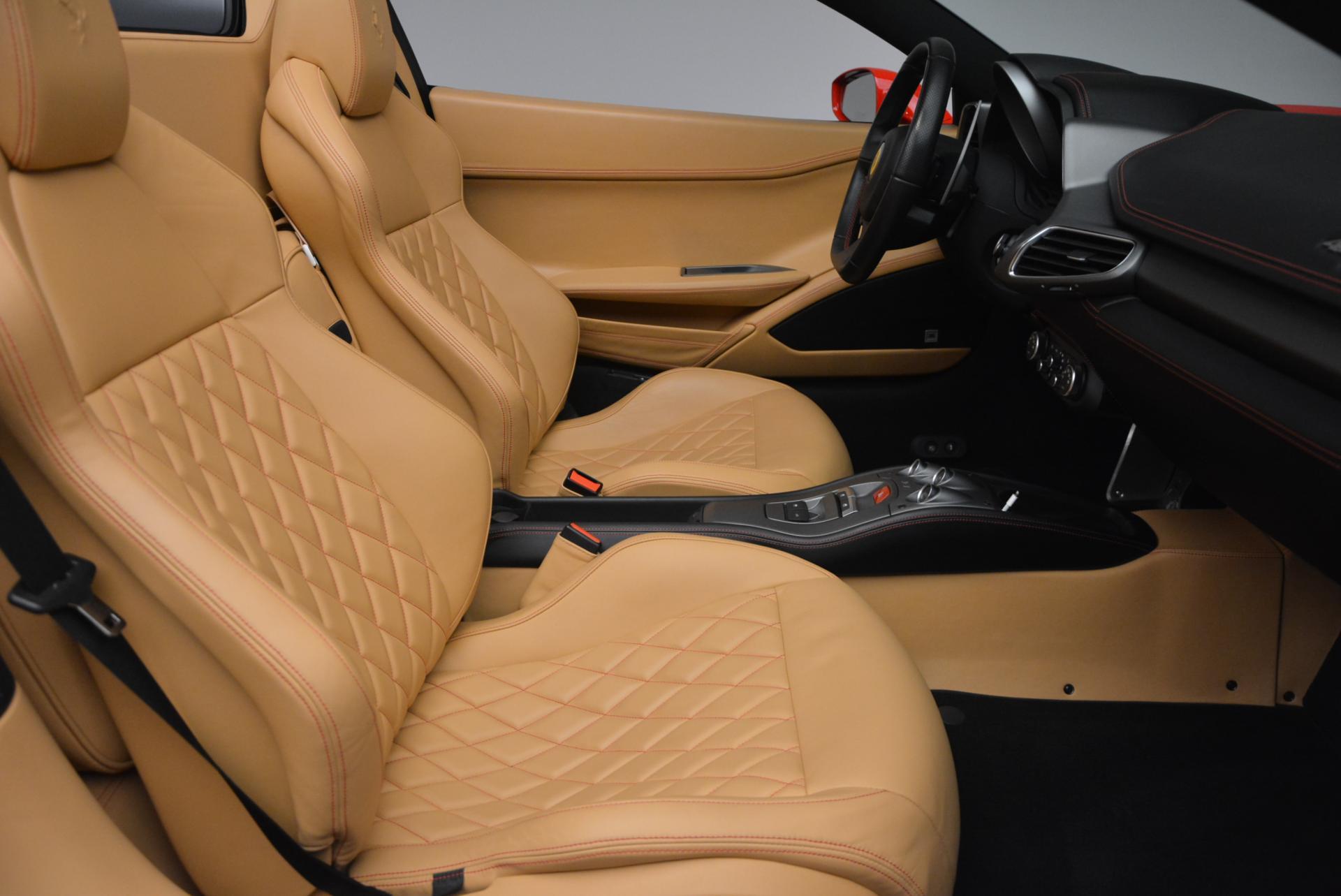 Used 2013 Ferrari 458 Spider  For Sale In Westport, CT 537_p30
