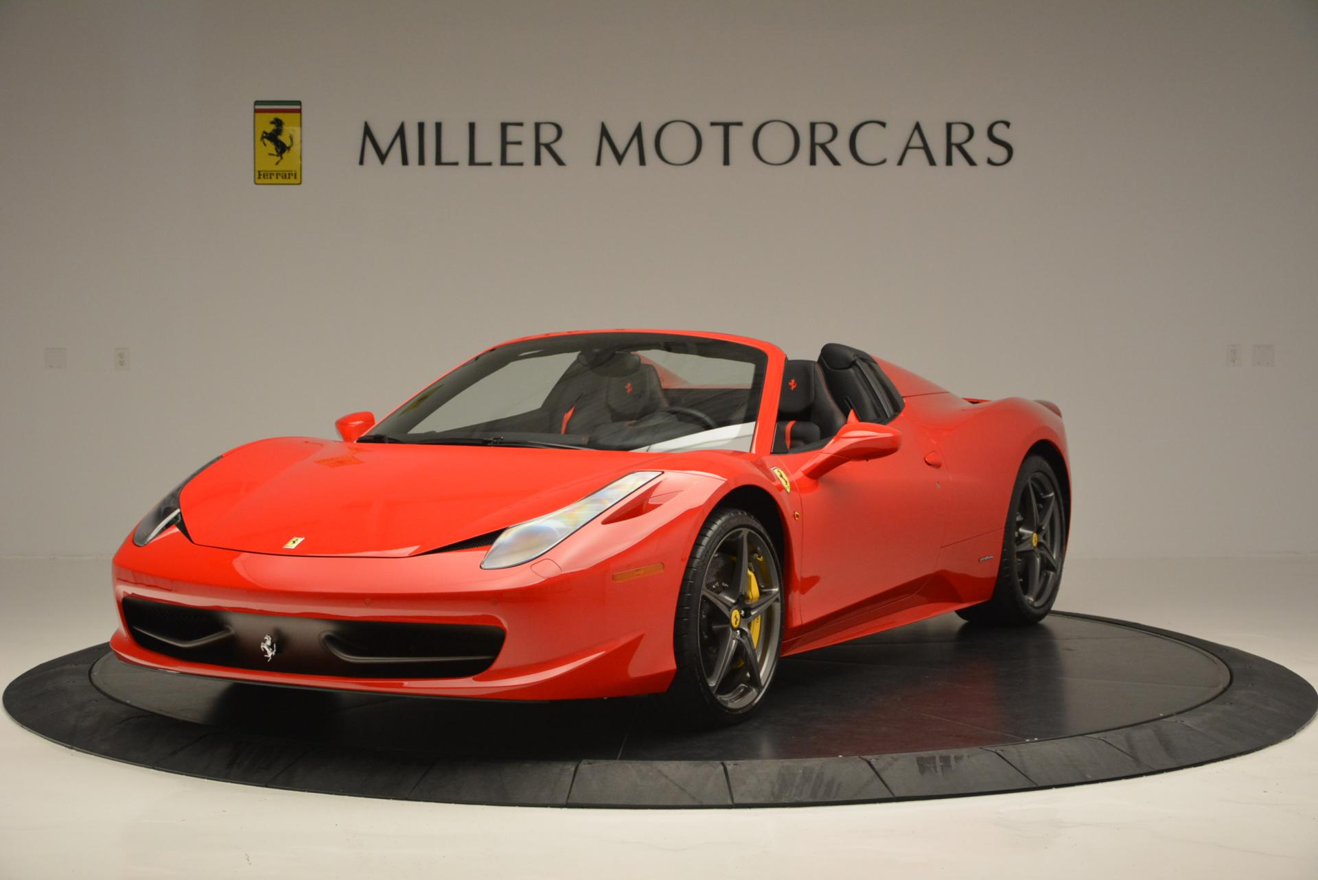 used 2015 ferrari 458 spider westport ct. Black Bedroom Furniture Sets. Home Design Ideas