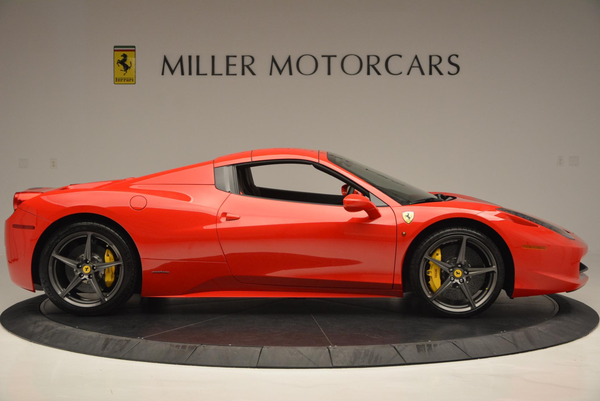 Used 2015 Ferrari 458 Spider  For Sale In Westport, CT 542_p21
