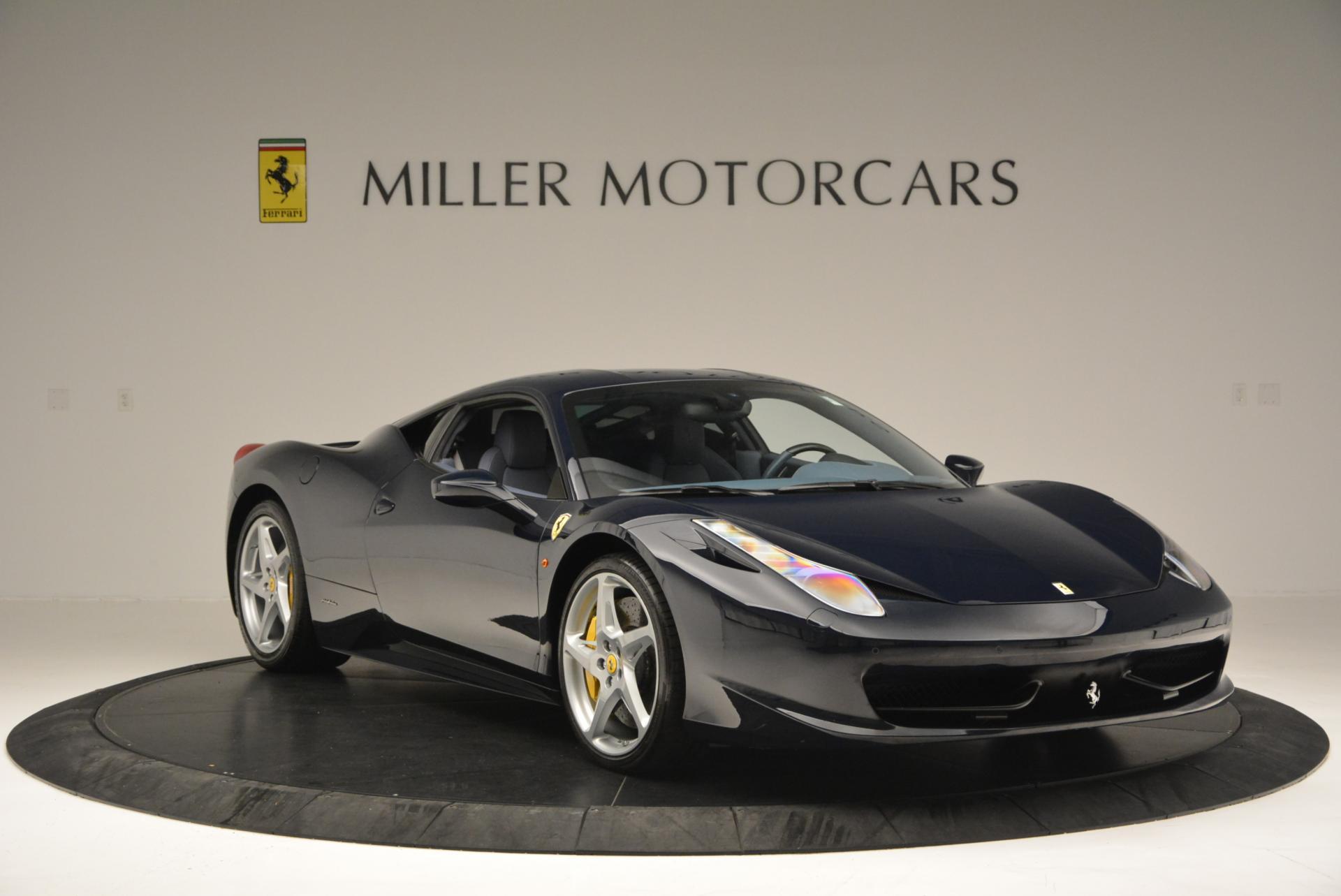 Used 2012 Ferrari 458 Italia  For Sale In Westport, CT 550_p11