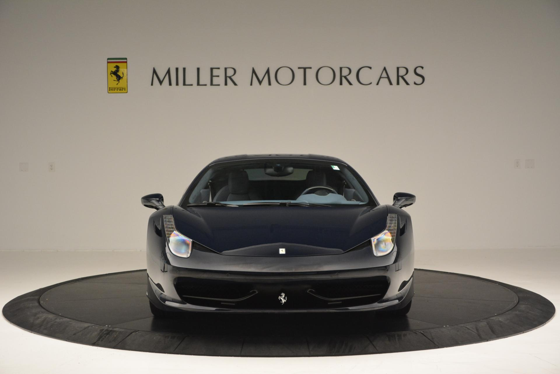 Used 2012 Ferrari 458 Italia  For Sale In Westport, CT 550_p12