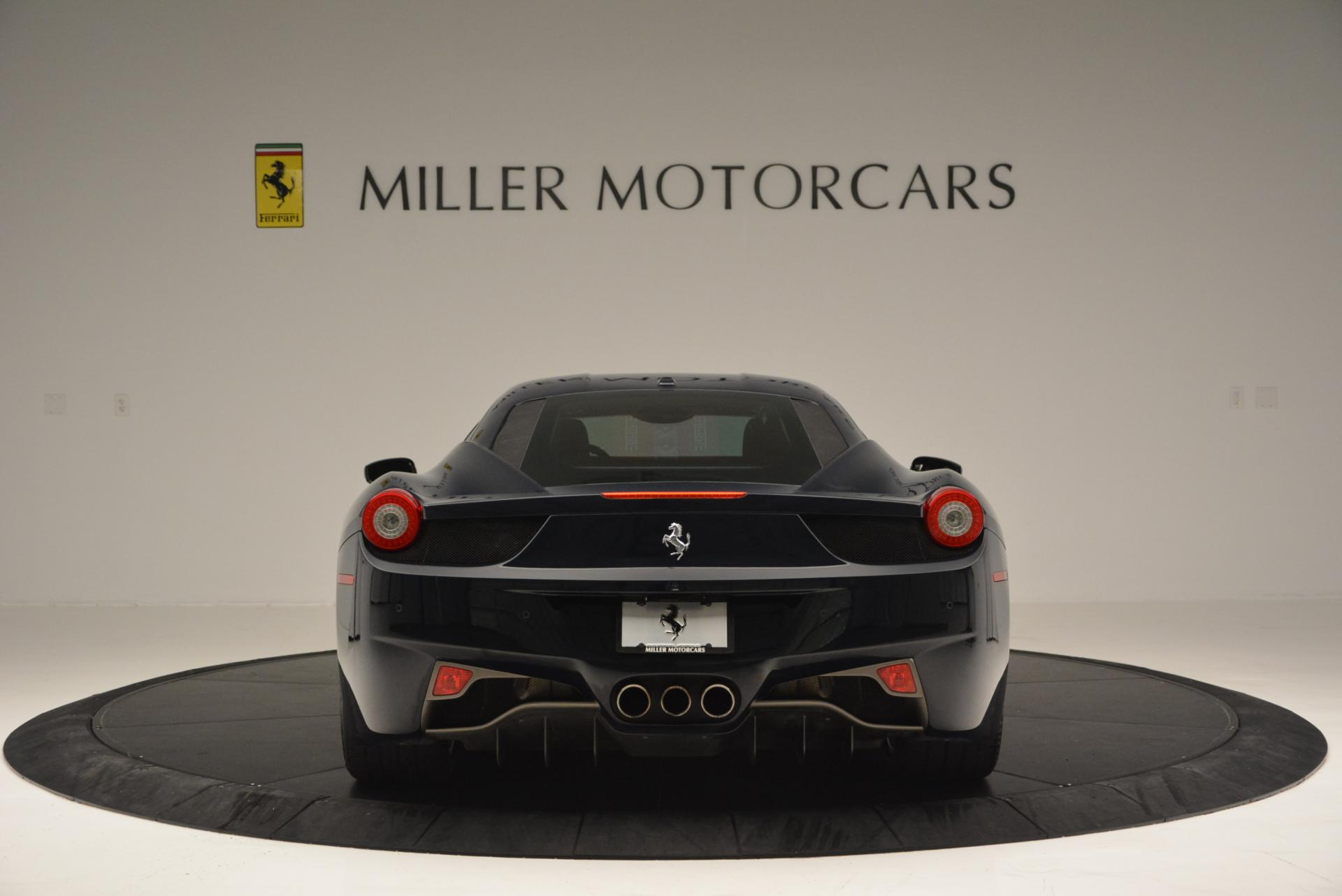 Used 2012 Ferrari 458 Italia  For Sale In Westport, CT 550_p6