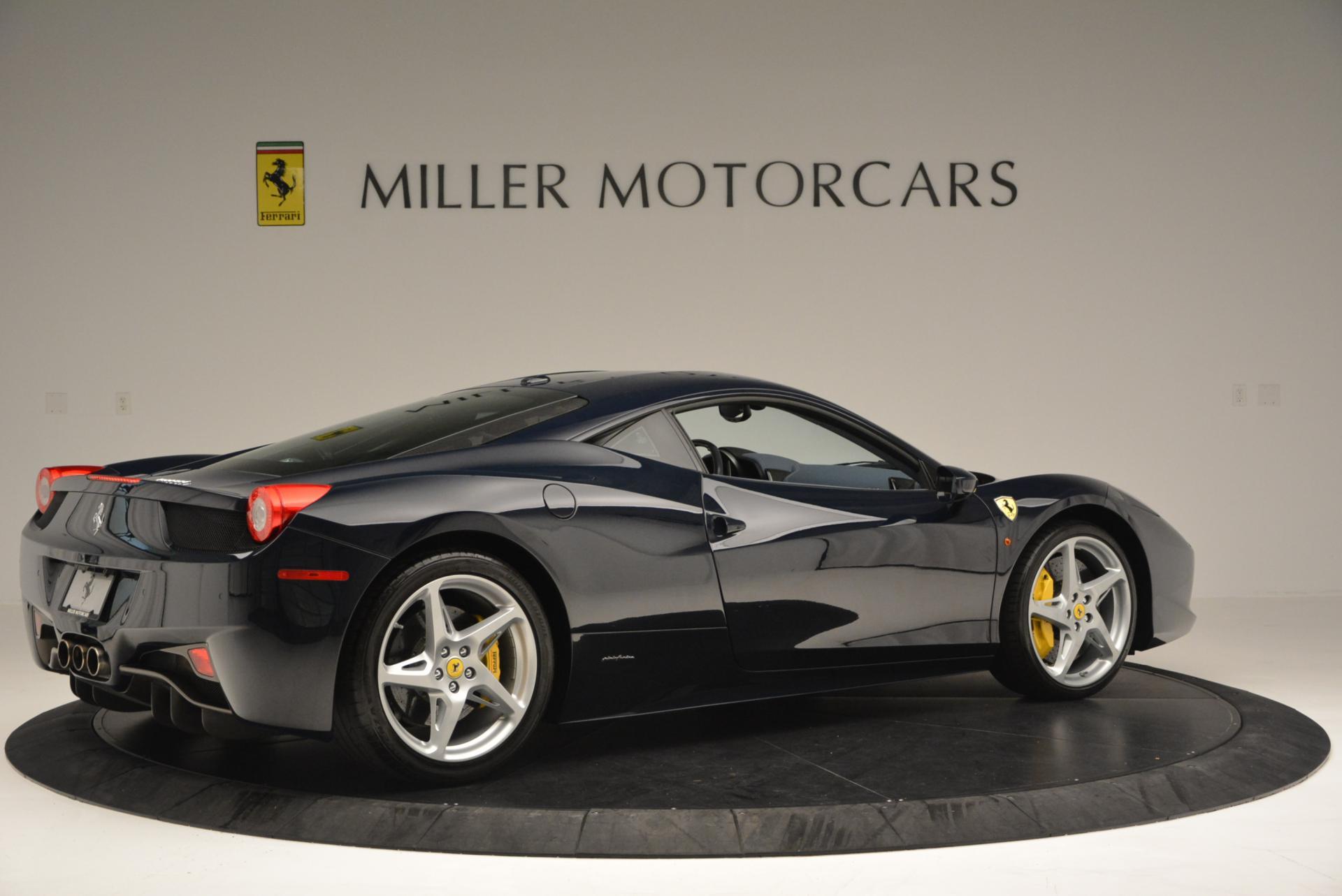 Used 2012 Ferrari 458 Italia  For Sale In Westport, CT 550_p8