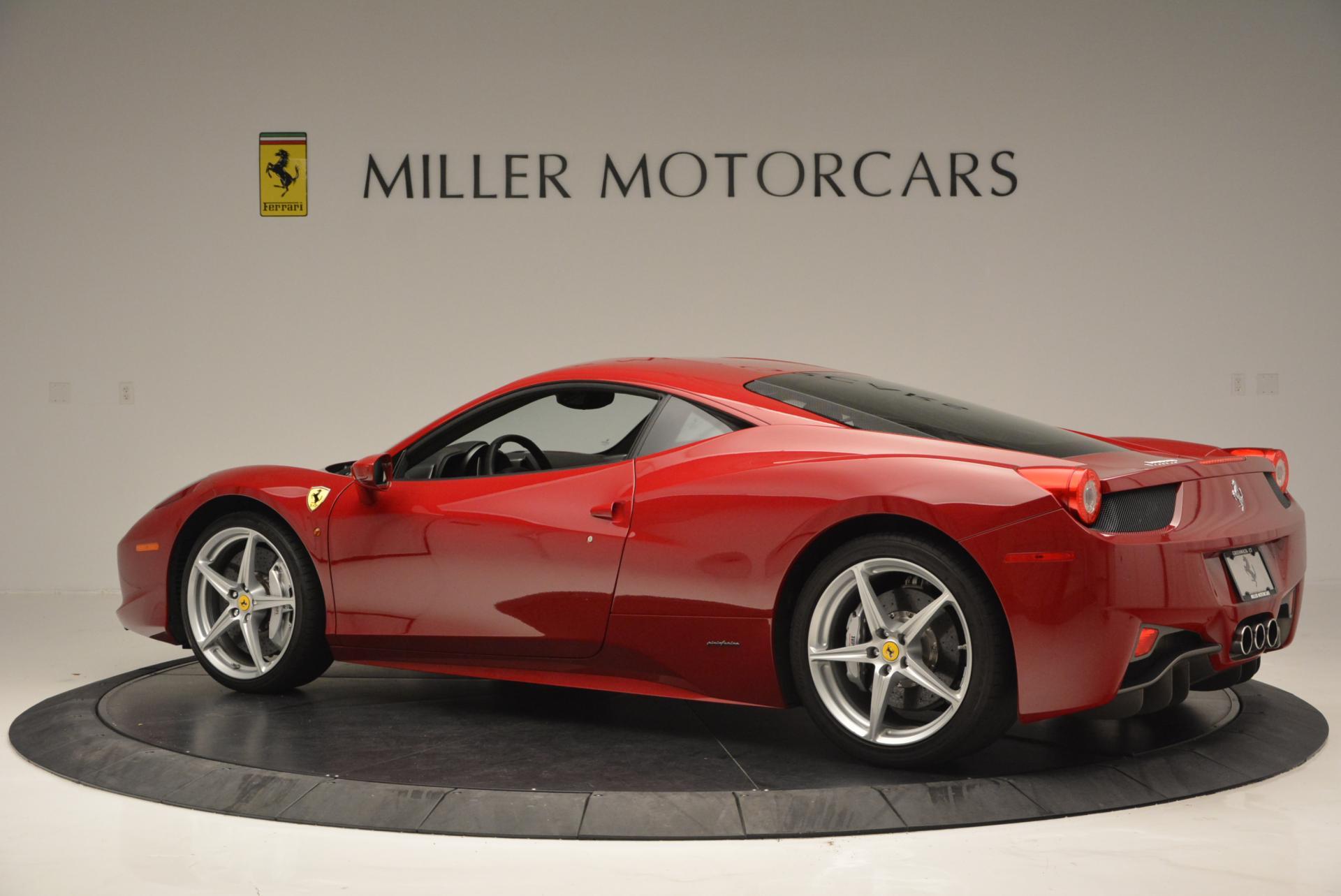Used 2011 Ferrari 458 Italia  For Sale In Westport, CT 551_p4