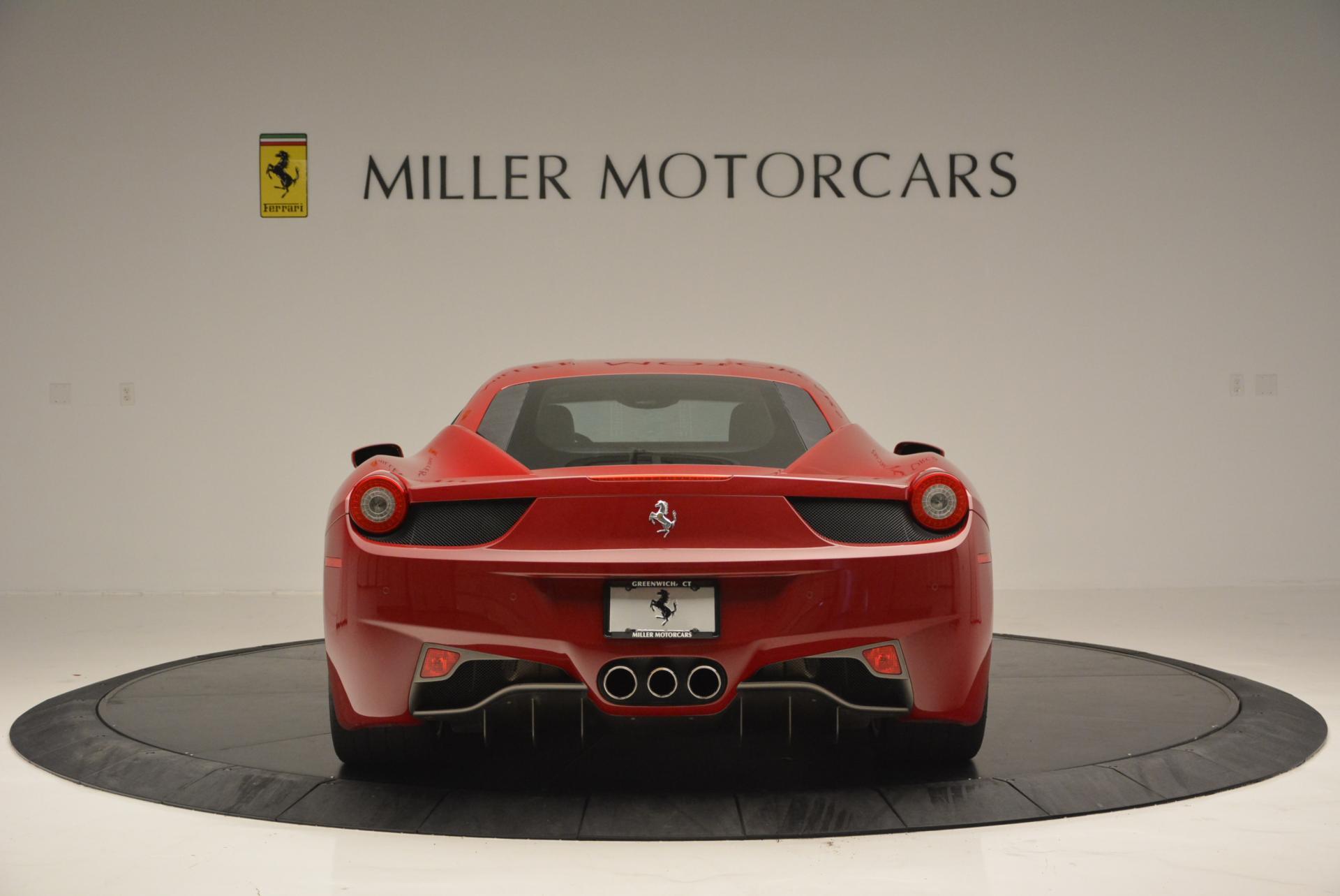 Used 2011 Ferrari 458 Italia  For Sale In Westport, CT 551_p6