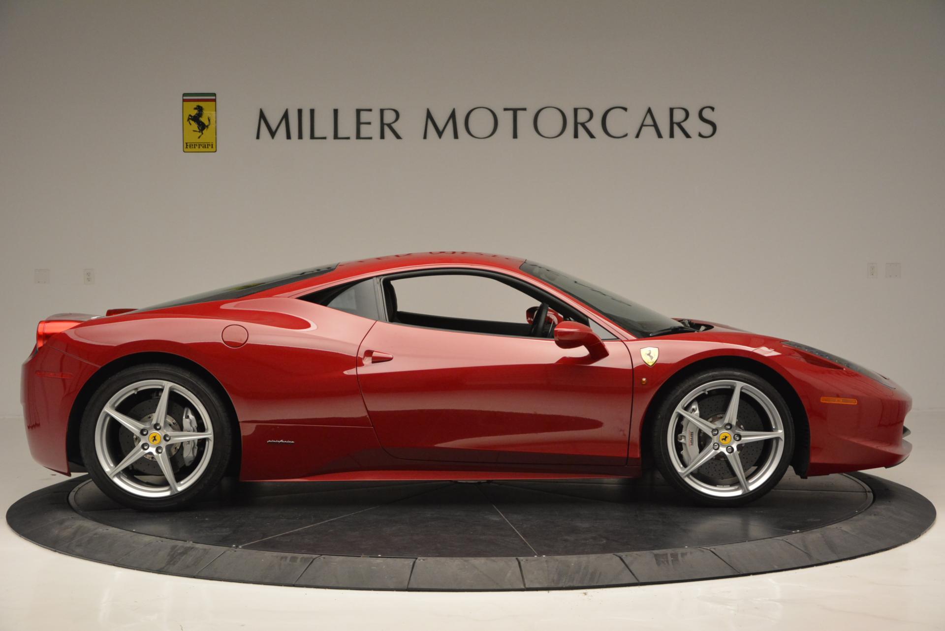 Used 2011 Ferrari 458 Italia  For Sale In Westport, CT 551_p9