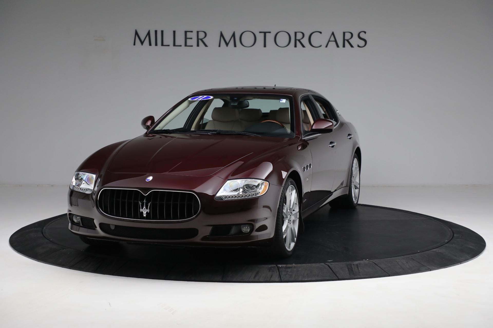 Used 2011 Maserati Quattroporte  For Sale In Westport, CT 552_main