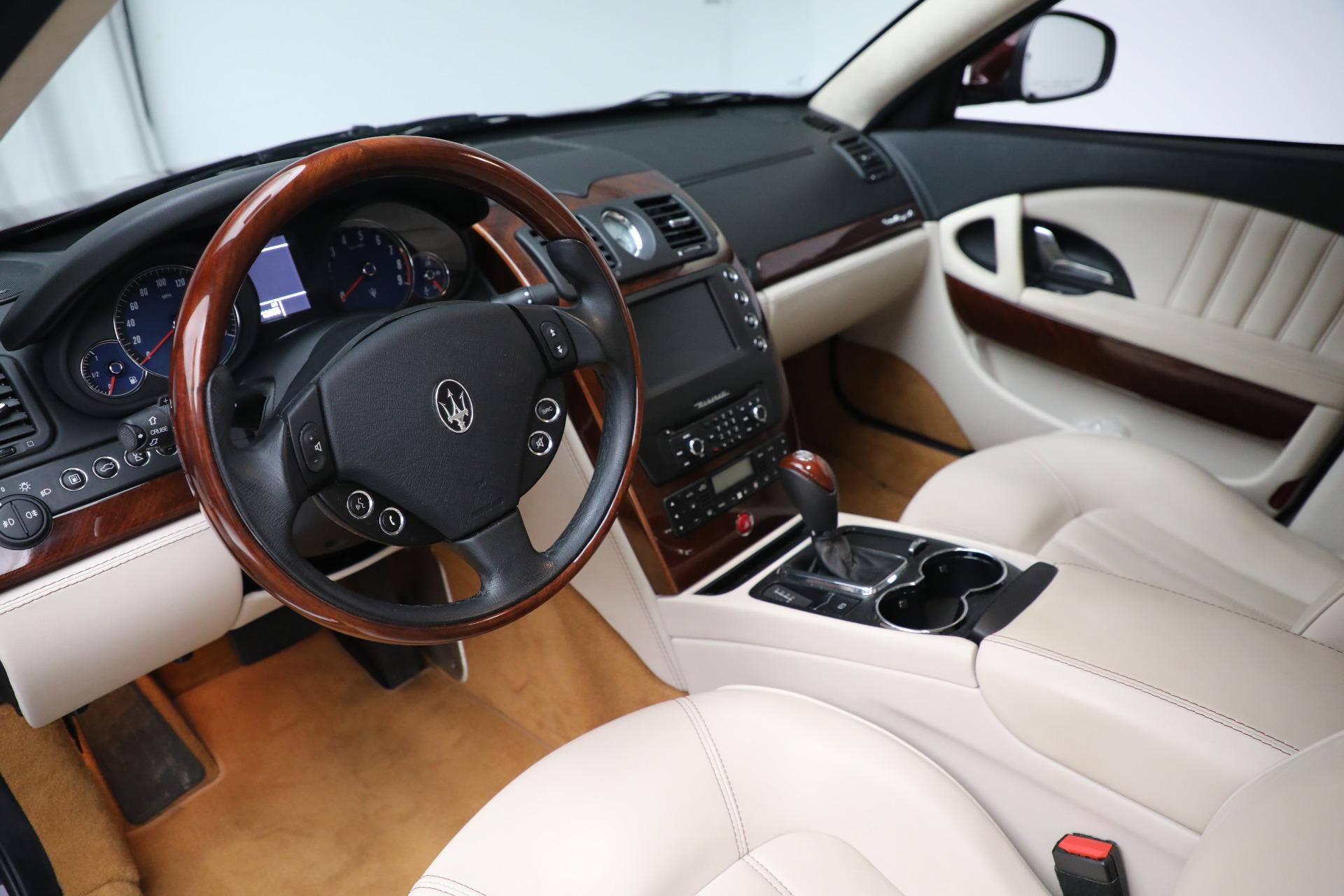 Used 2011 Maserati Quattroporte  For Sale In Westport, CT 552_p14