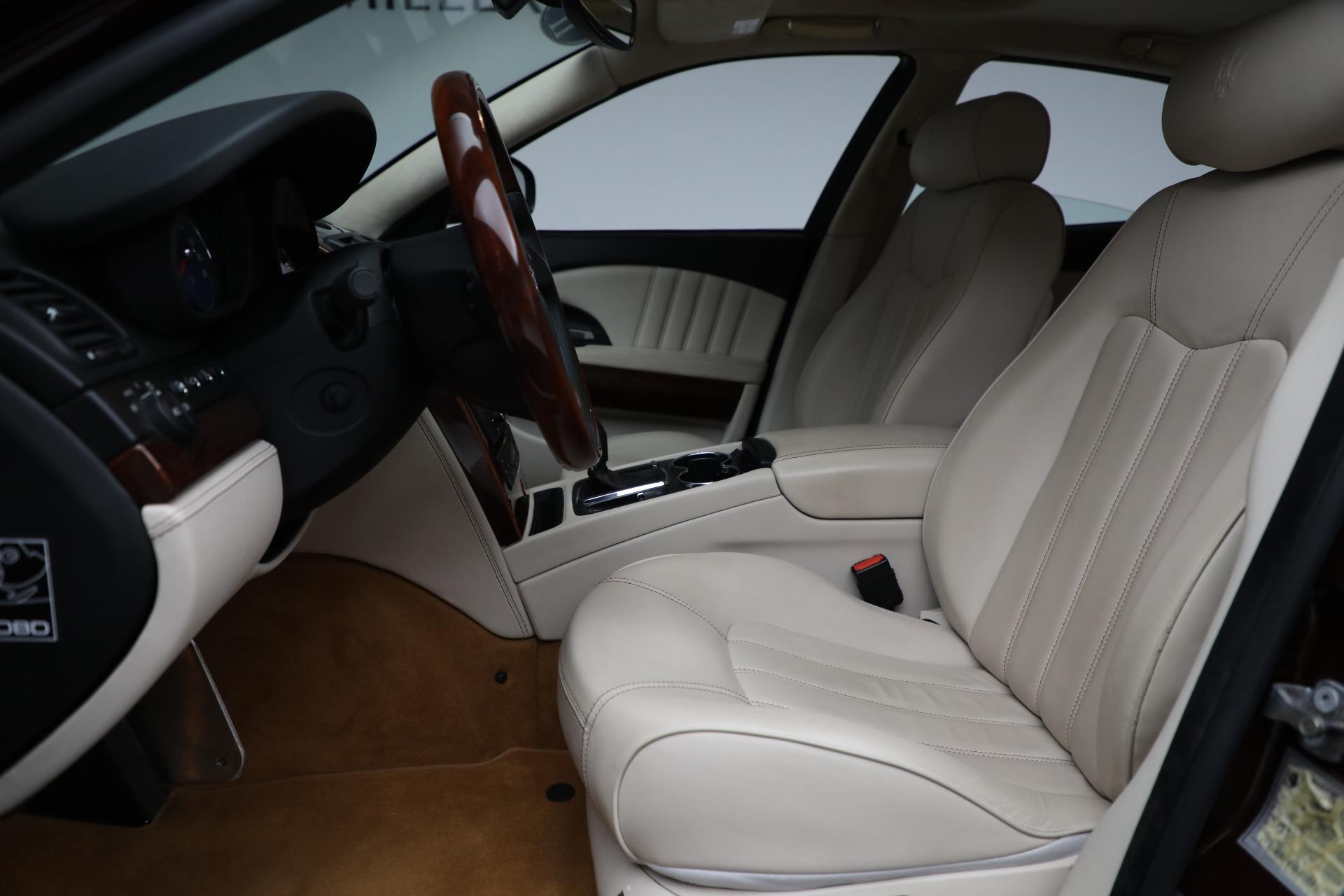 Used 2011 Maserati Quattroporte  For Sale In Westport, CT 552_p15