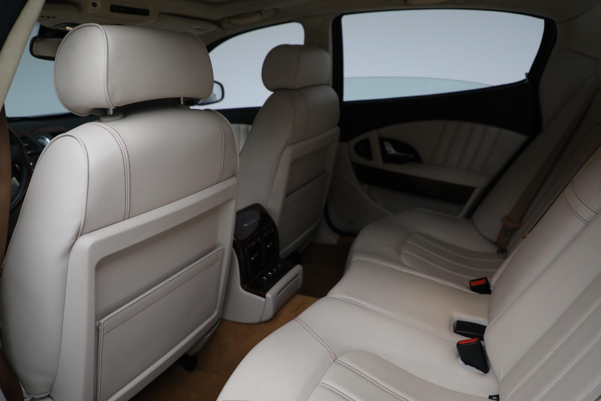 Used 2011 Maserati Quattroporte  For Sale In Westport, CT 552_p18