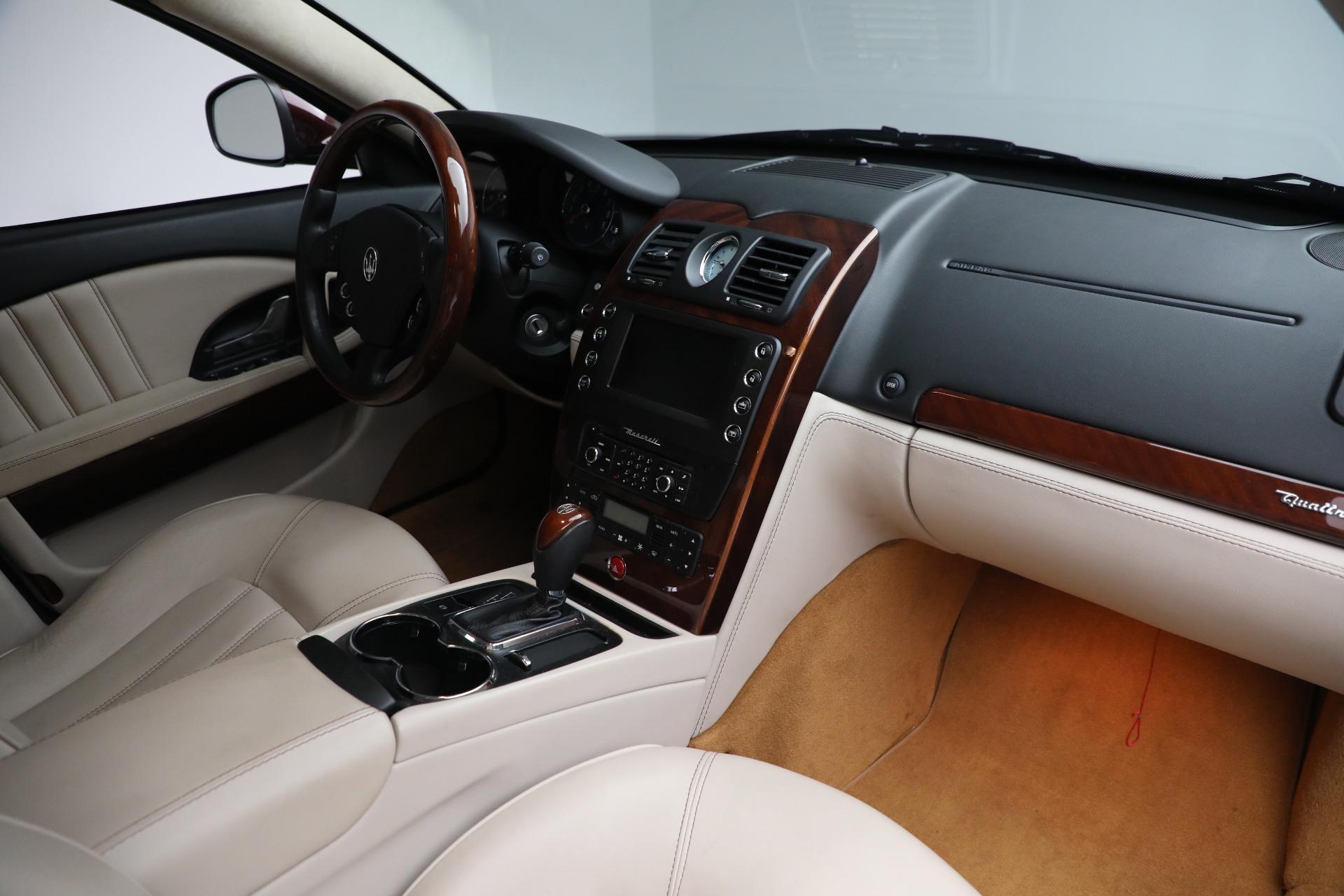 Used 2011 Maserati Quattroporte  For Sale In Westport, CT 552_p22