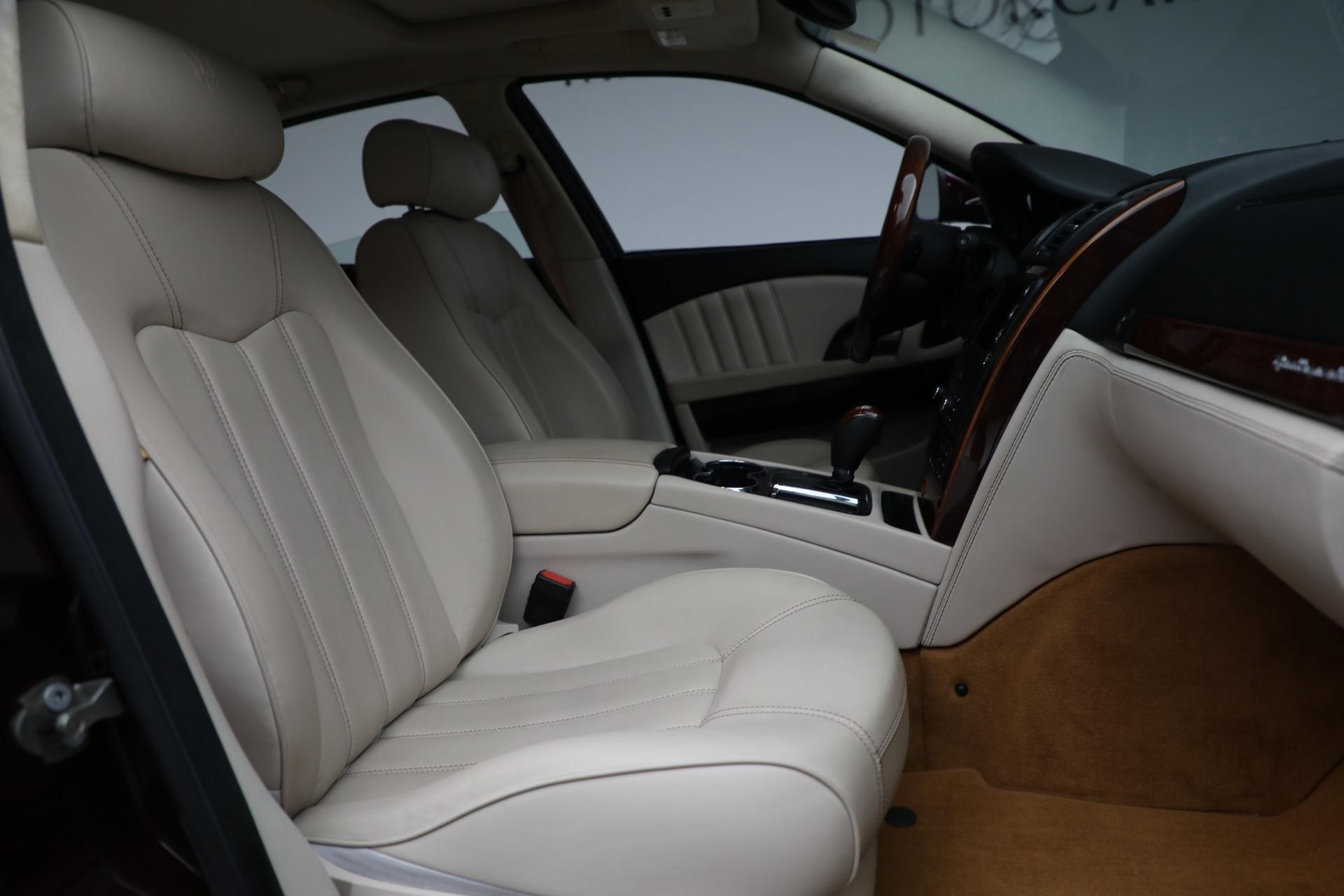Used 2011 Maserati Quattroporte  For Sale In Westport, CT 552_p23