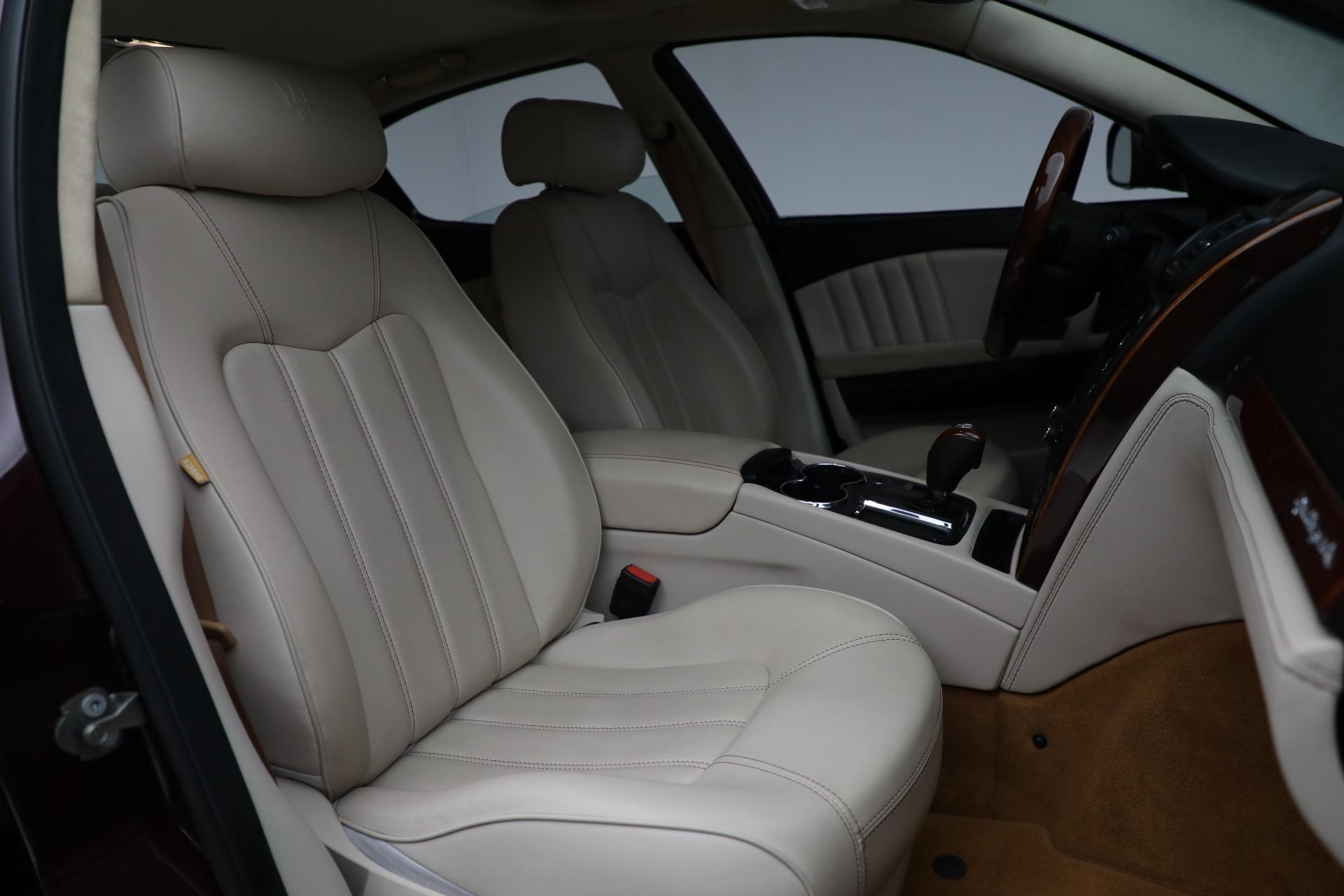 Used 2011 Maserati Quattroporte  For Sale In Westport, CT 552_p24