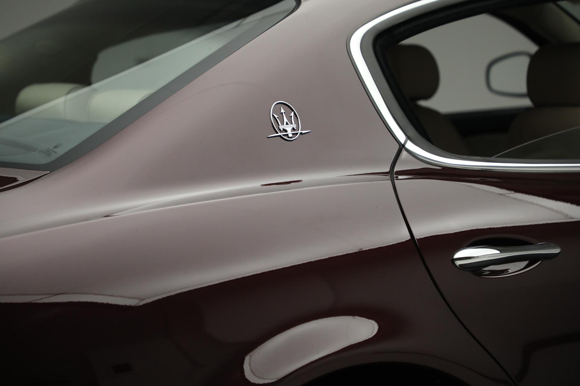 Used 2011 Maserati Quattroporte  For Sale In Westport, CT 552_p26