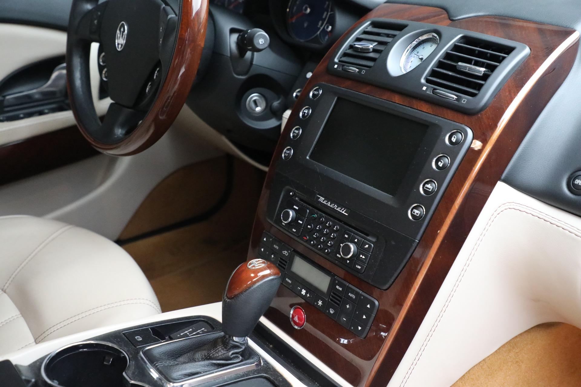 Used 2011 Maserati Quattroporte  For Sale In Westport, CT 552_p28