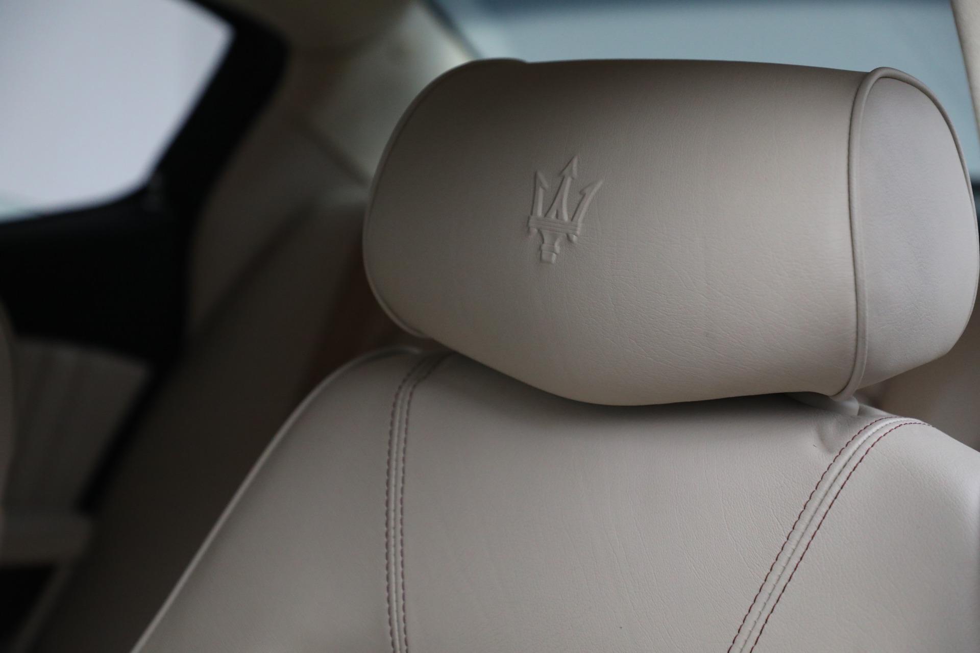 Used 2011 Maserati Quattroporte  For Sale In Westport, CT 552_p29