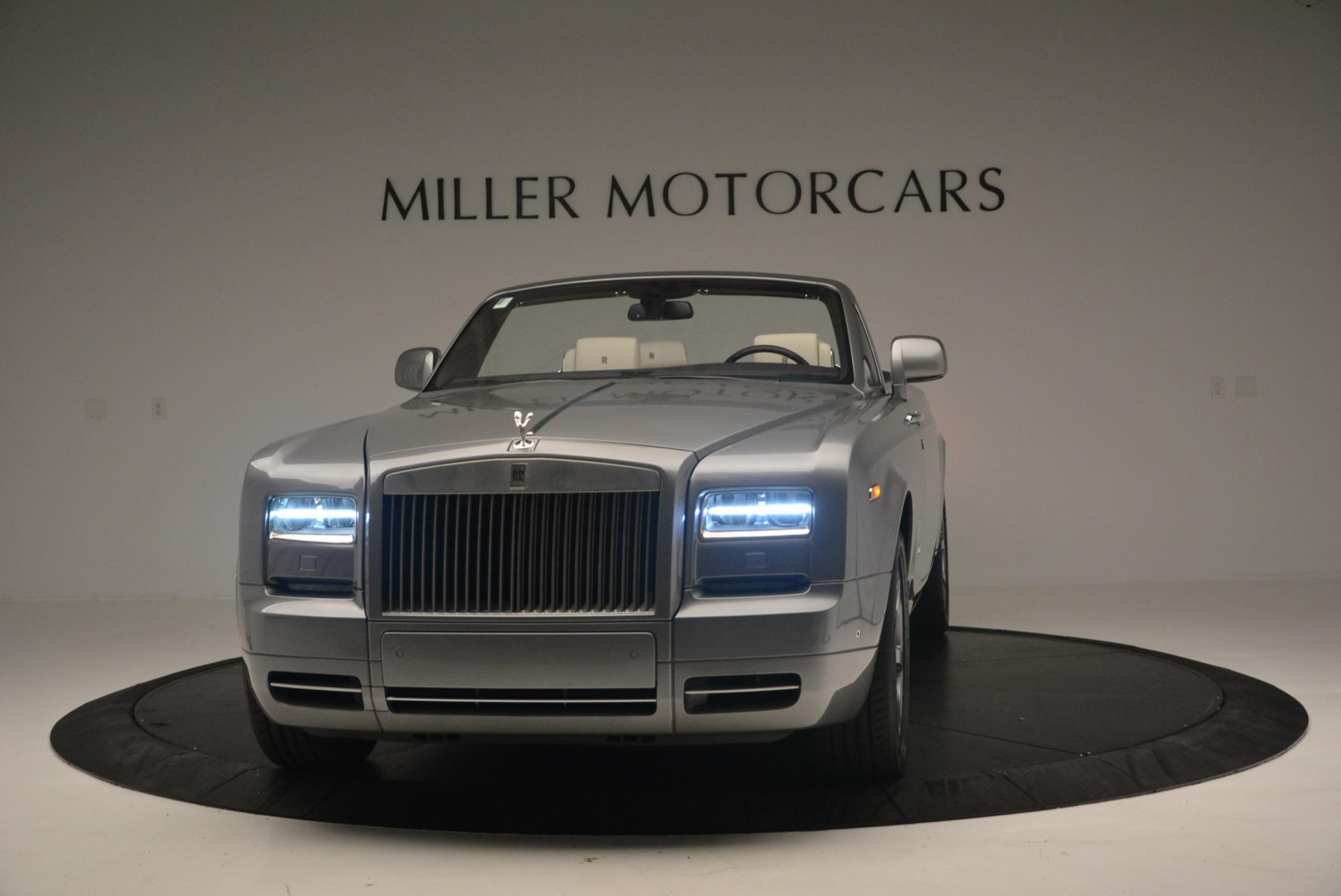 Used 2015 Rolls-Royce Phantom Drophead Coupe  For Sale In Westport, CT 554_main