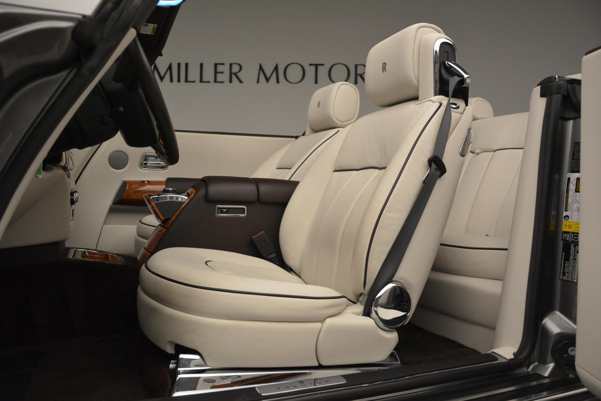 Used 2015 Rolls-Royce Phantom Drophead Coupe  For Sale In Westport, CT 554_p26