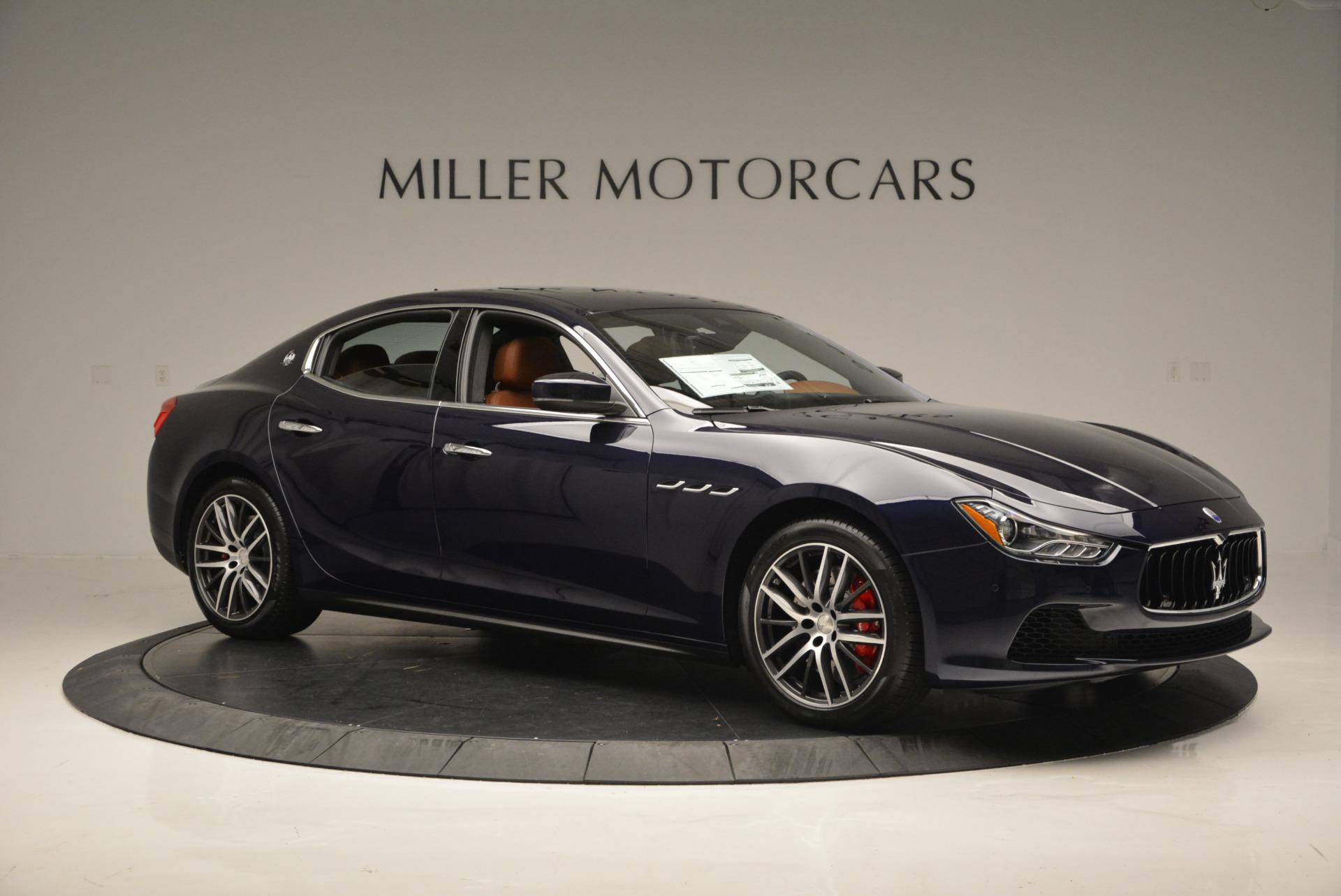 New 2017 Maserati Ghibli S Q4 For Sale In Westport, CT 564_p10