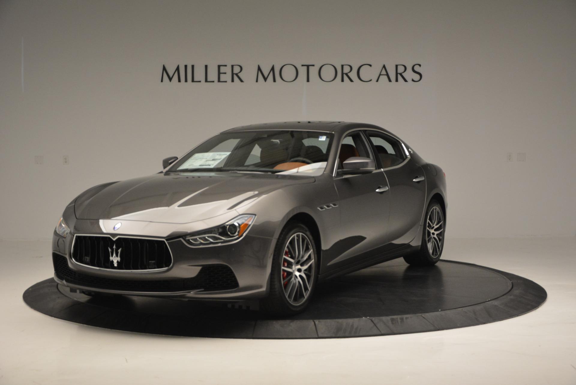Used 2017 Maserati Ghibli S Q4  EX-LOANER For Sale In Westport, CT 565_main
