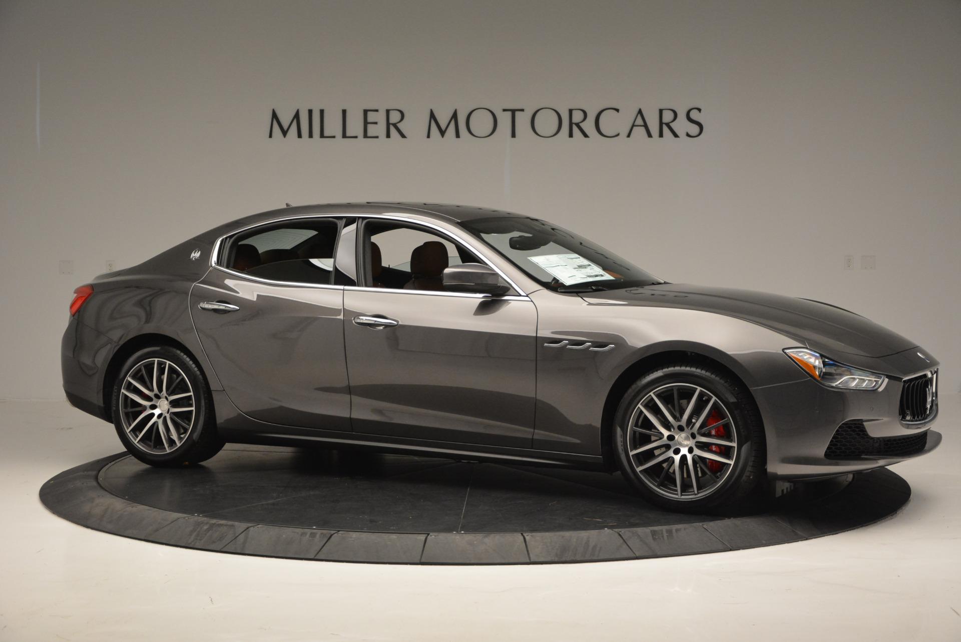 Used 2017 Maserati Ghibli S Q4  EX-LOANER For Sale In Westport, CT 565_p10
