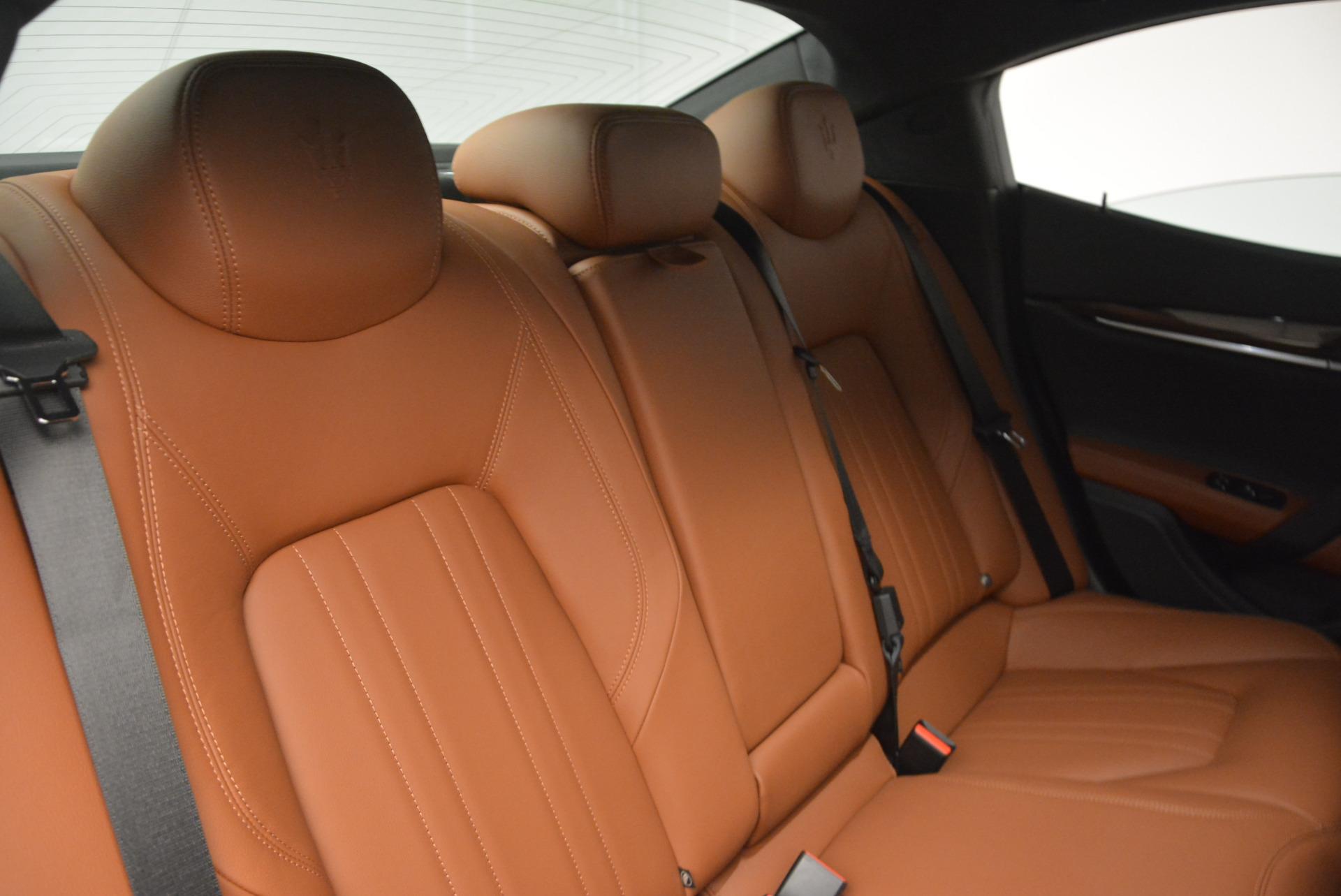 Used 2017 Maserati Ghibli S Q4  EX-LOANER For Sale In Westport, CT 565_p24