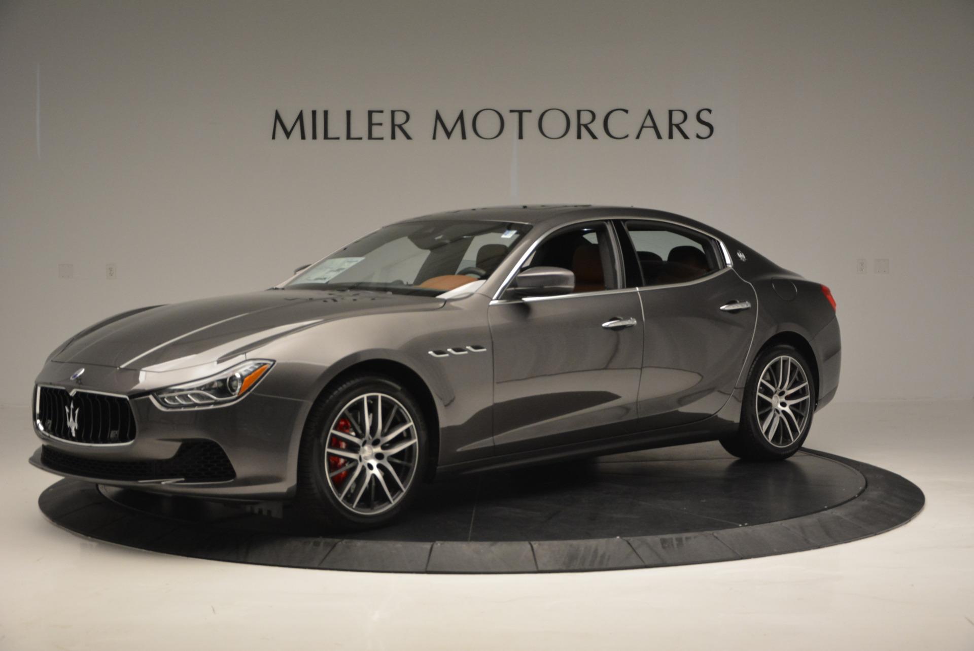 Used 2017 Maserati Ghibli S Q4  EX-LOANER For Sale In Westport, CT 565_p2