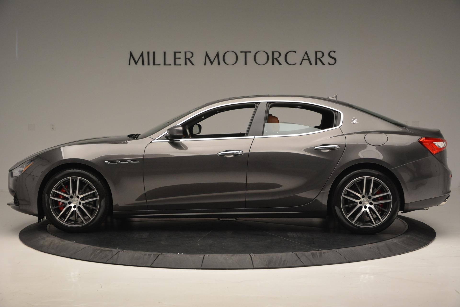 Used 2017 Maserati Ghibli S Q4  EX-LOANER For Sale In Westport, CT 565_p3