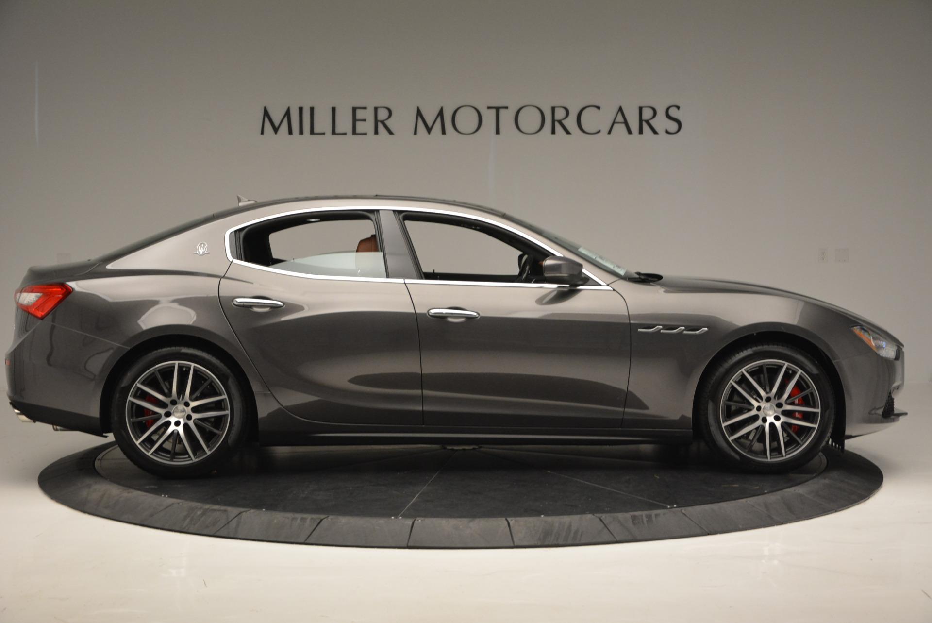 Used 2017 Maserati Ghibli S Q4  EX-LOANER For Sale In Westport, CT 565_p9