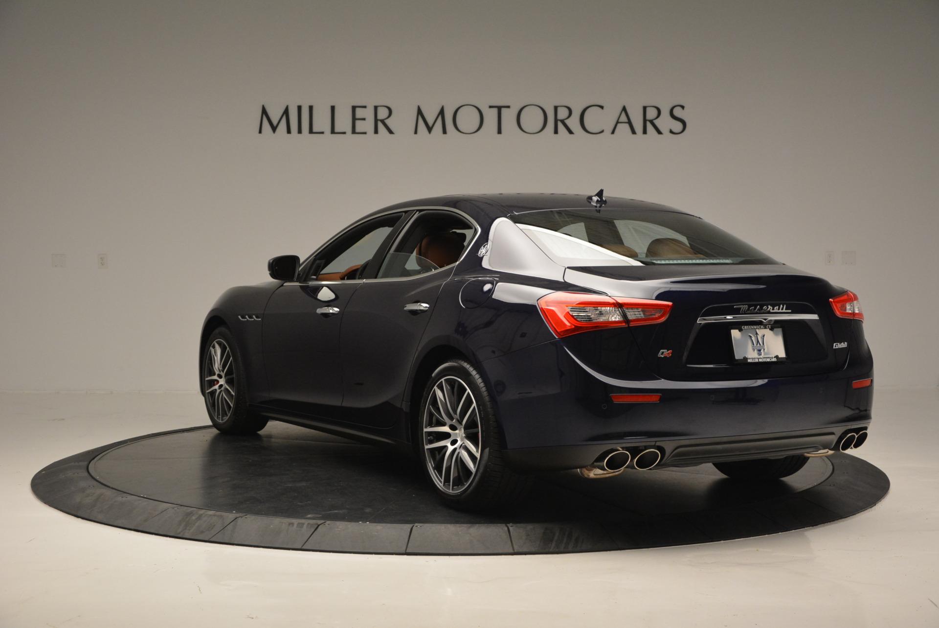 Used 2017 Maserati Ghibli S Q4 - EX Loaner For Sale In Westport, CT 567_p5