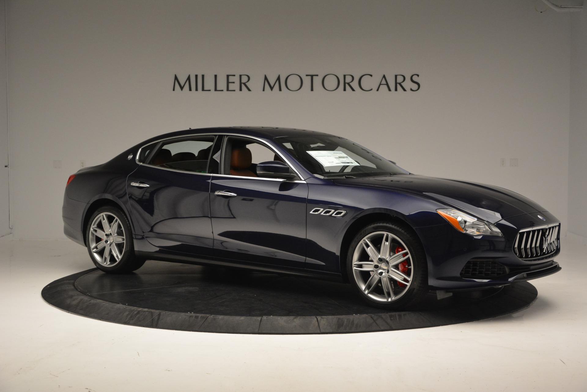 New 2017 Maserati Quattroporte S Q4 For Sale In Westport, CT 581_p10