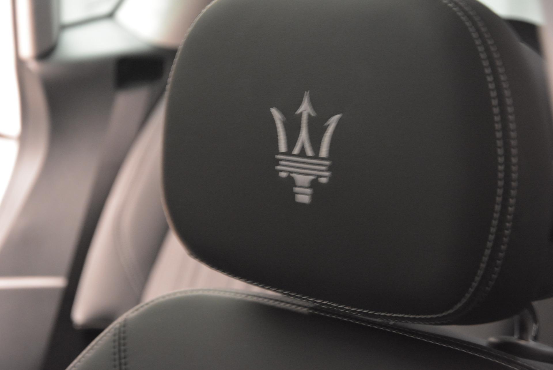 New 2017 Maserati Levante 350hp For Sale In Westport, CT 584_p26