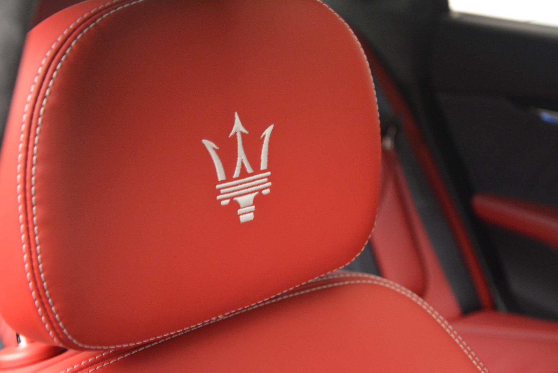 New 2017 Maserati Quattroporte S Q4 GranLusso For Sale In Westport, CT 585_p27