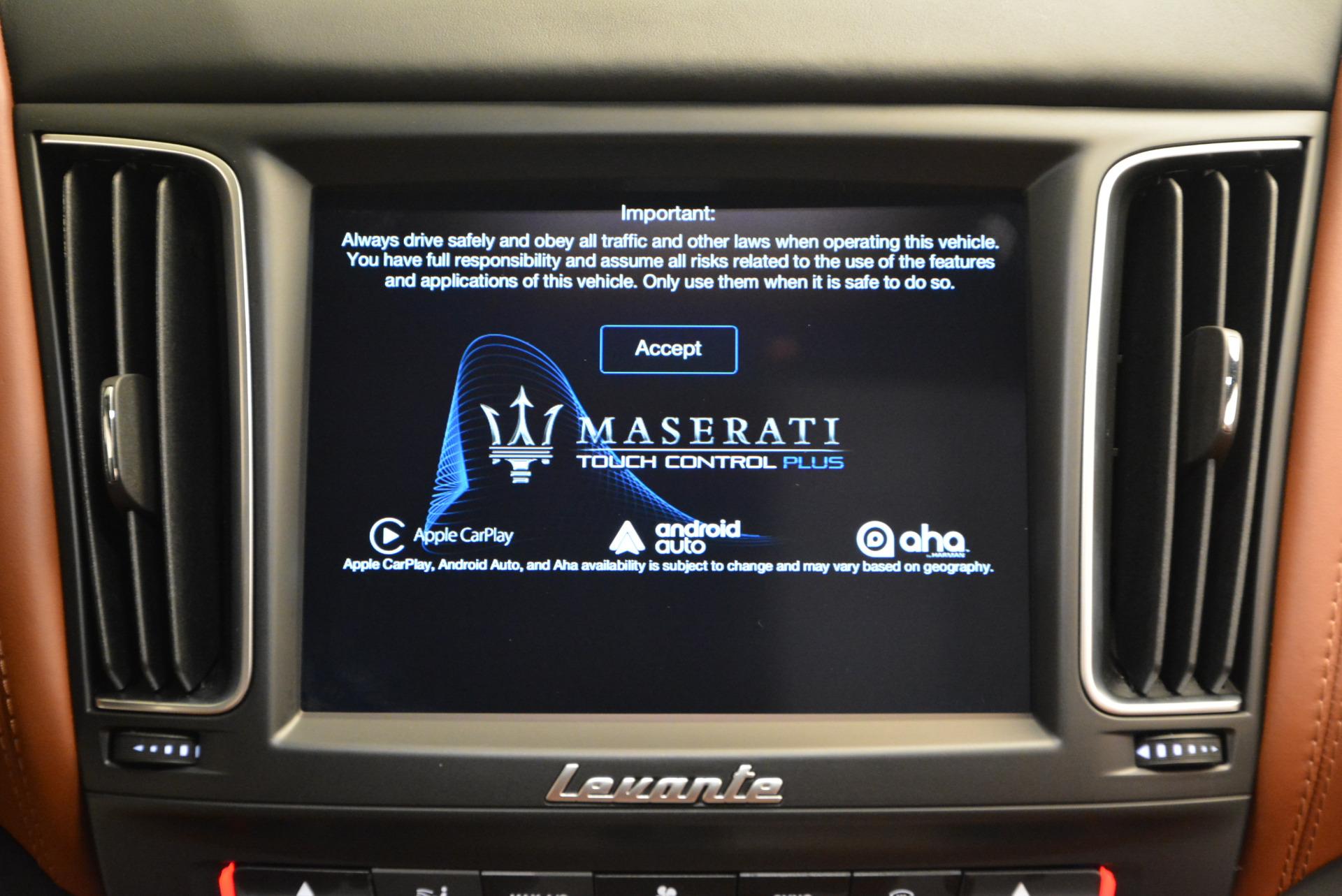 New 2017 Maserati Levante S For Sale In Westport, CT 586_p35