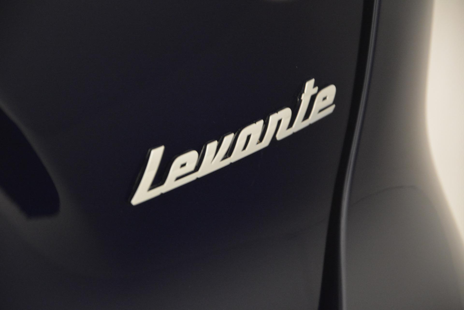 New 2017 Maserati Levante S For Sale In Westport, CT 586_p7