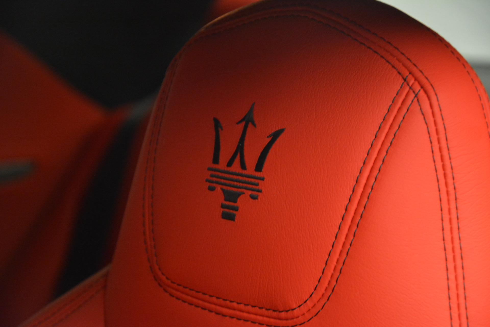 New 2017 Maserati GranTurismo Sport For Sale In Westport, CT 594_p19