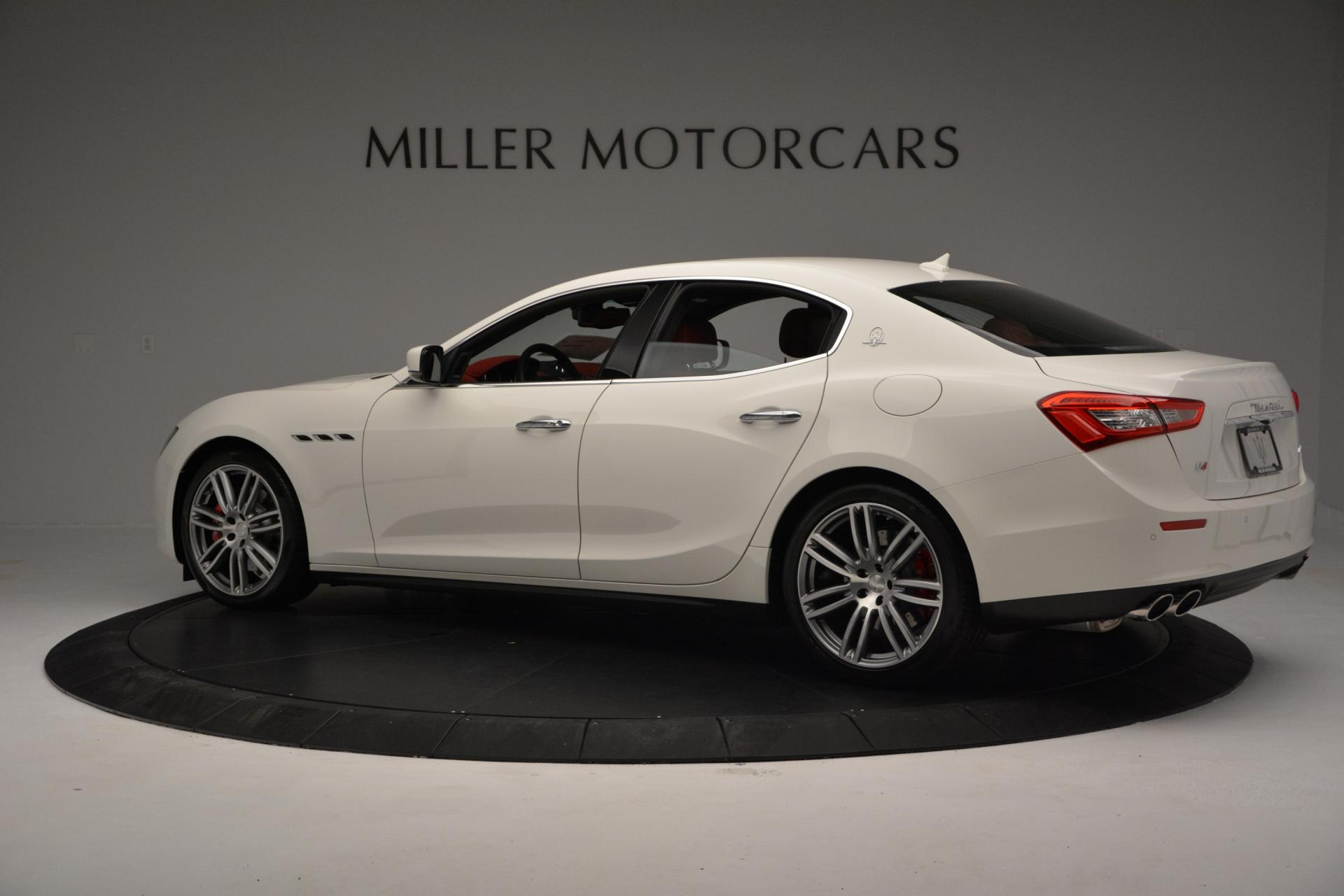 New 2016 Maserati Ghibli S Q4 For Sale In Westport, CT 60_p4