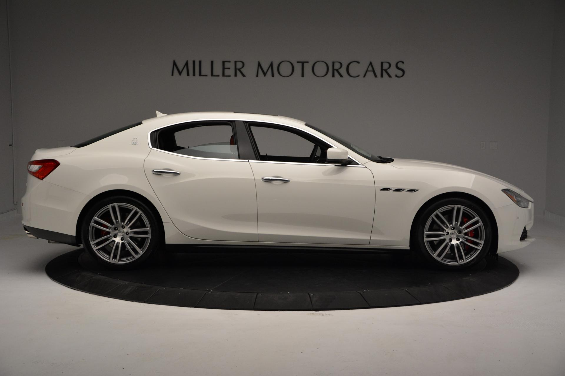New 2016 Maserati Ghibli S Q4 For Sale In Westport, CT 60_p8